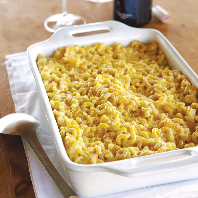 Macaroni and Cheese with Vegetables