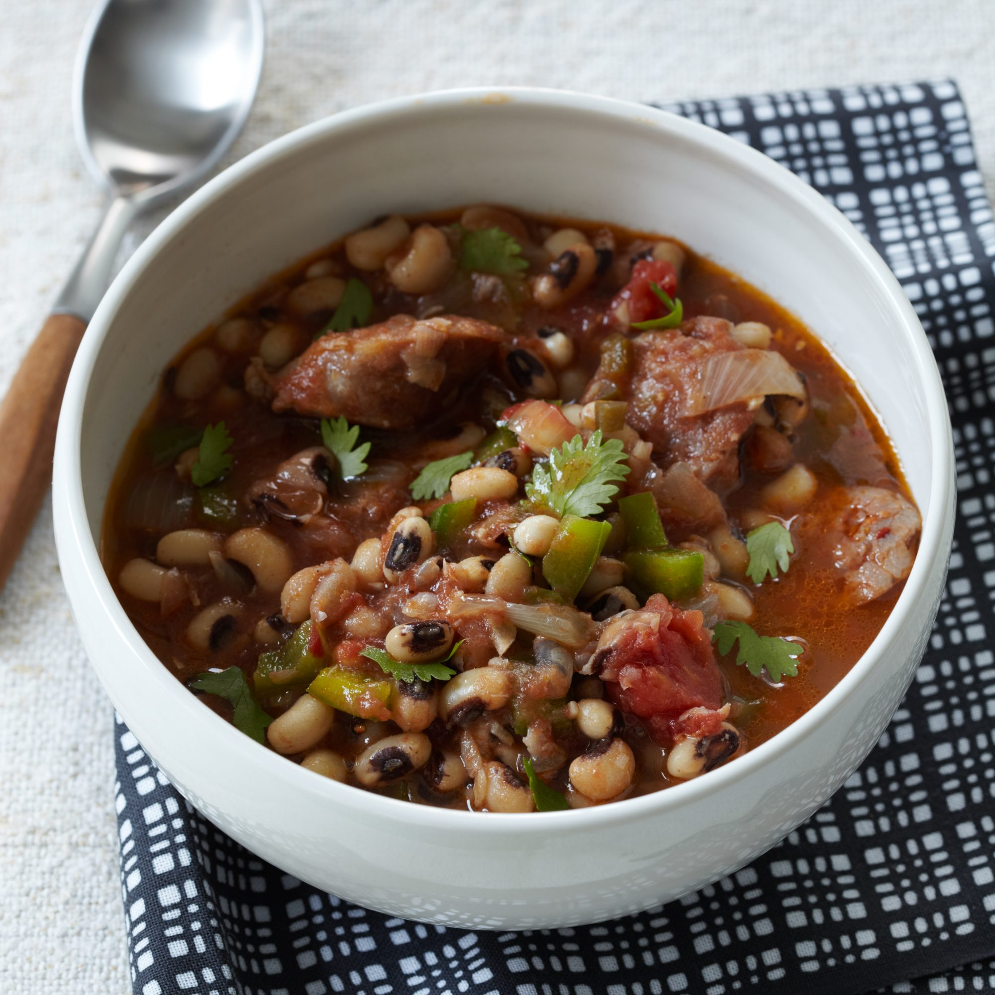 Black Eyed Pea Stew With Sausage Recipe Gail Simmons Food Wine