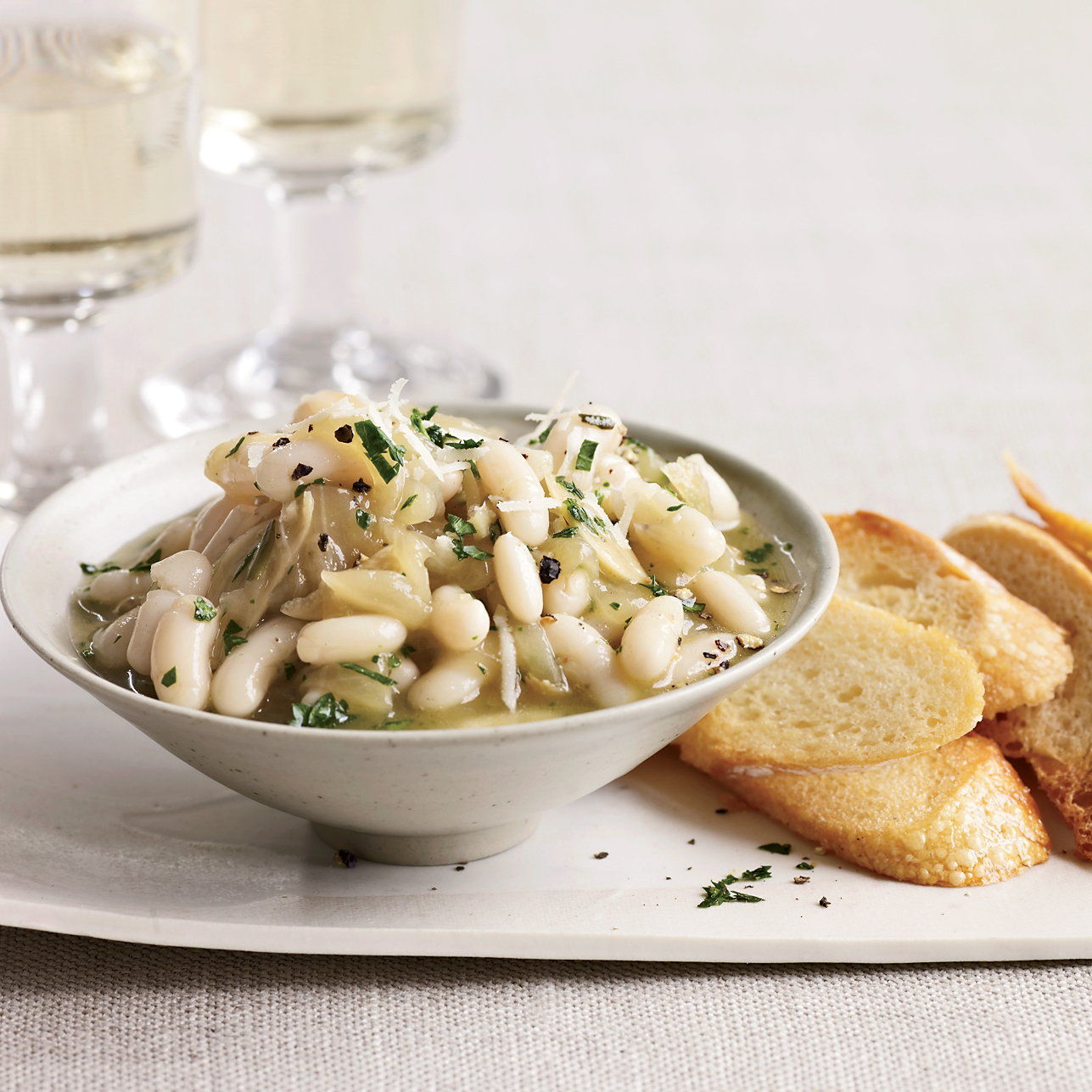 White Beans with Onion Confit Recipe - Jerry Traunfeld ...