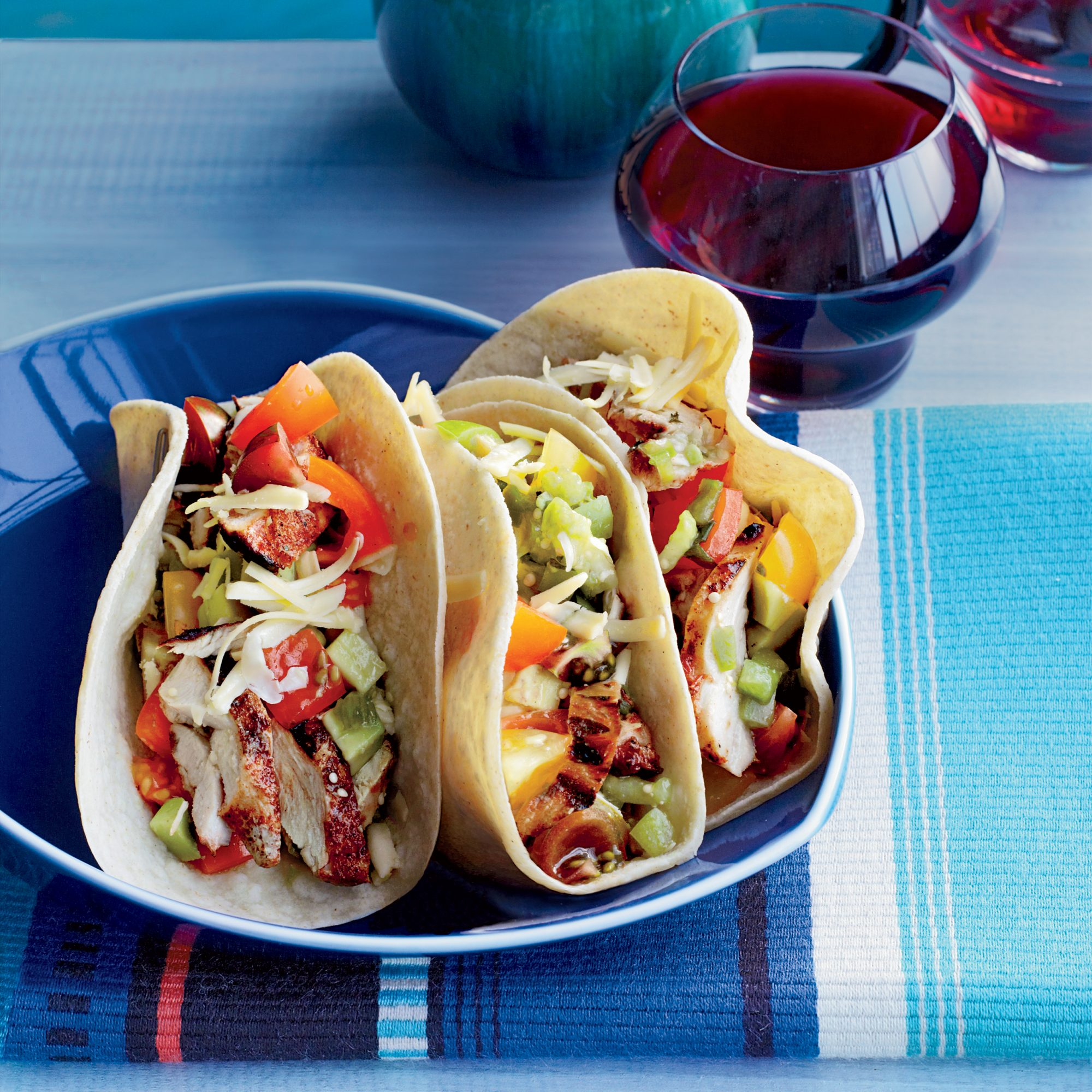 Mexican Recipes: Grilled-Chicken Tacos