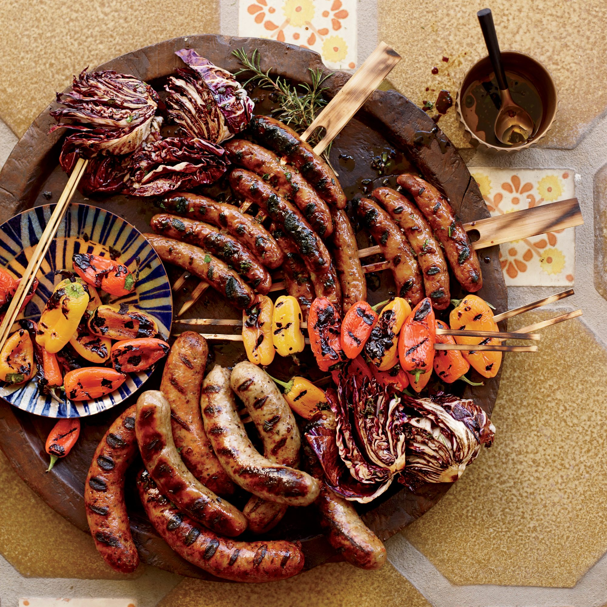 Sausage Mixed Grill Recipe - Marcia Kiesel
