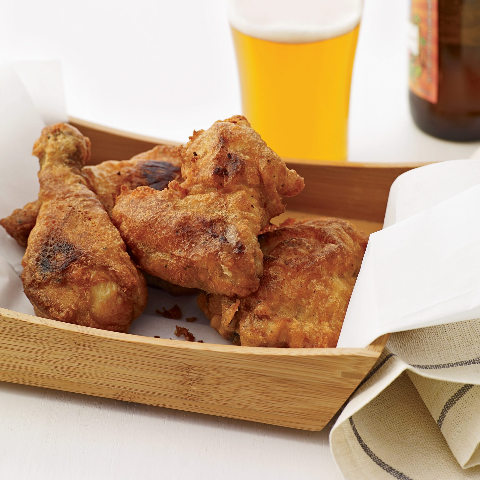 Beer-Battered Buttermilk Fried Chicken Recipe - Grace ...