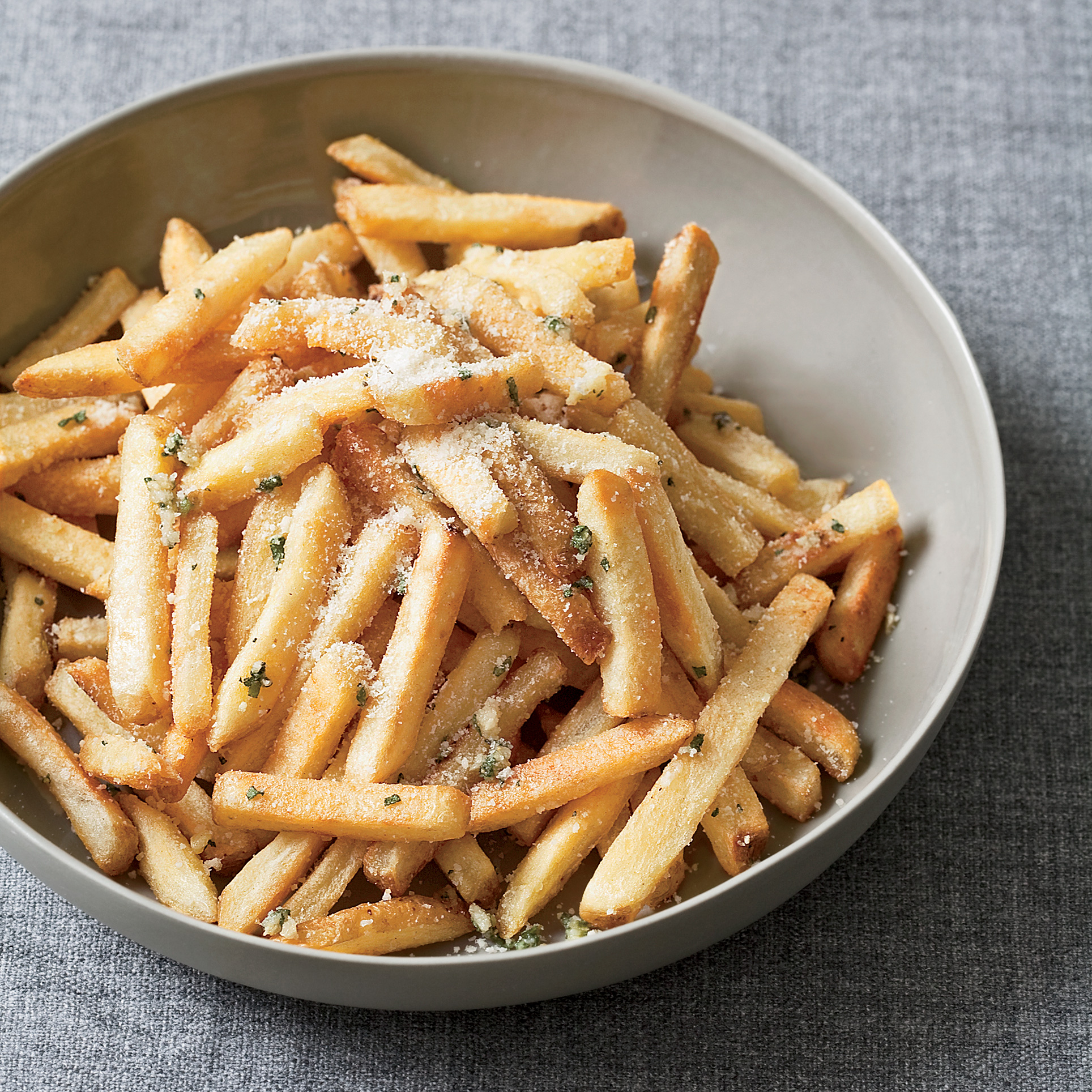 "<p itemprop=""name"">Oven Fries with Herbs and Pecorino</p>"