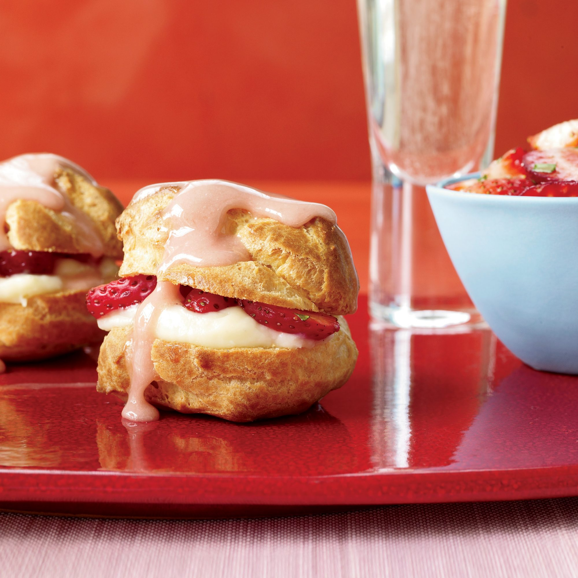 strawberry cream puffs recipe ed jiloca food wine