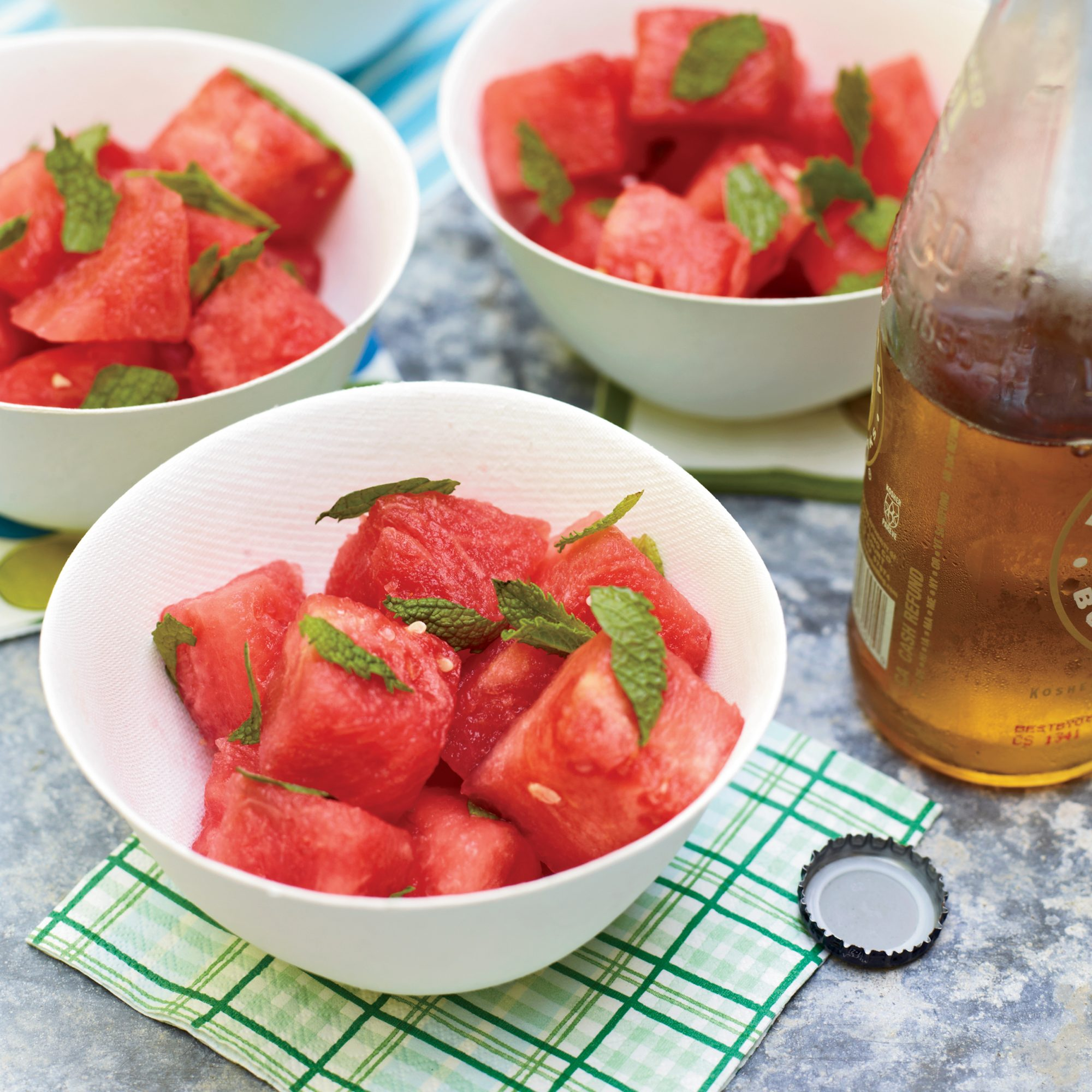 Watermelon Salad With Mint And Lime Recipe