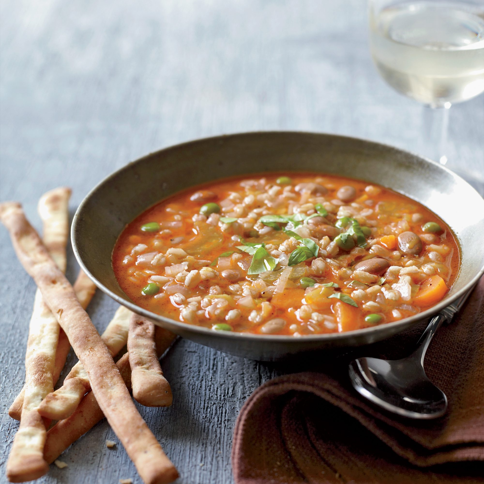 Put in the Slow Cooker and let it do what it does best. A rich soup for Lent.