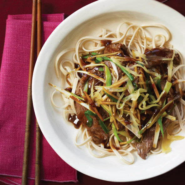 Beef Stir-Fry with Fresh and Pickled Ginger Recipe - Stanley Cheng ...
