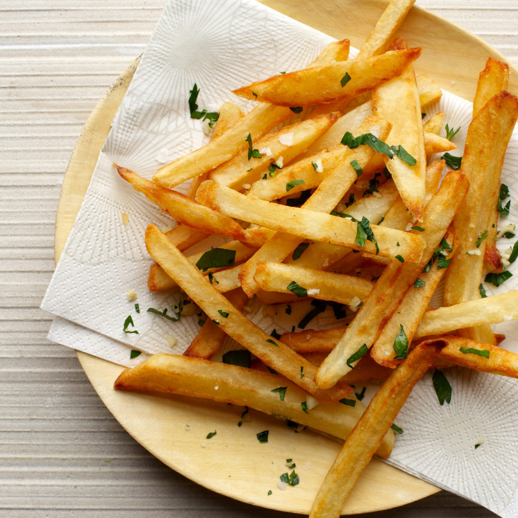 how to make home cut fries
