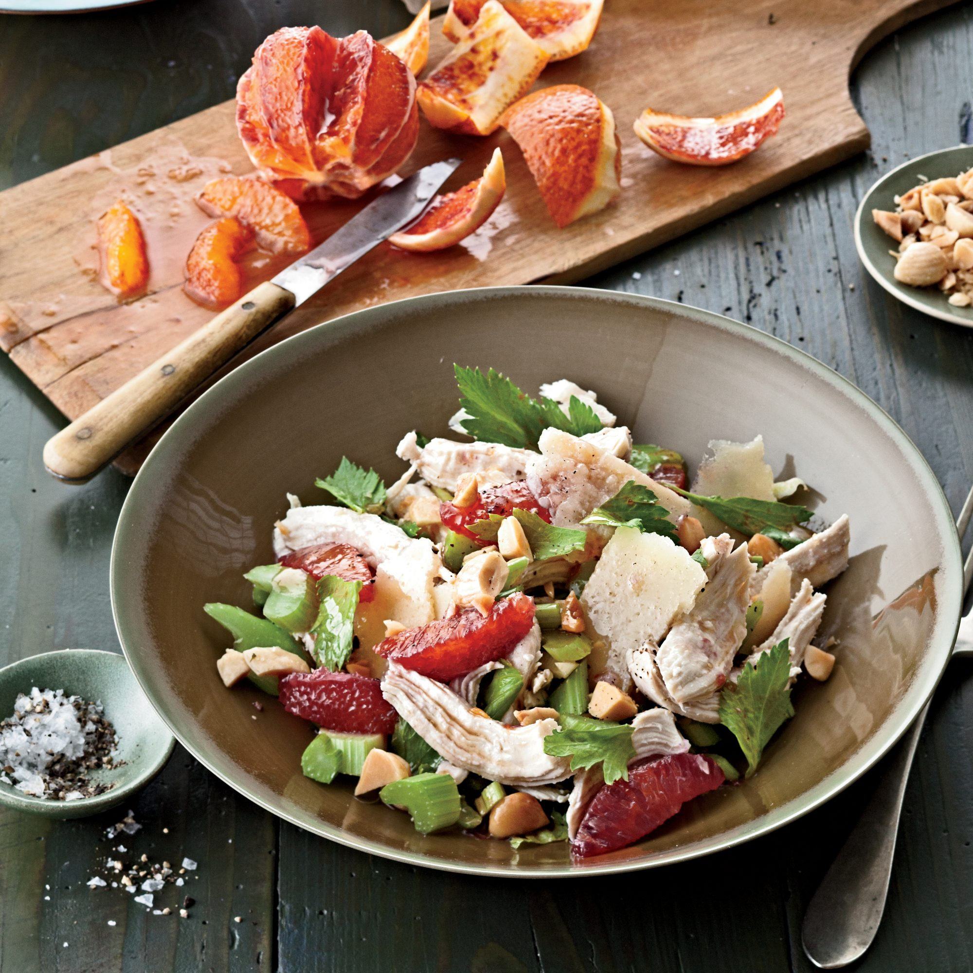 Chicken Chic: Winter Chicken Salad with Citrus and Celery