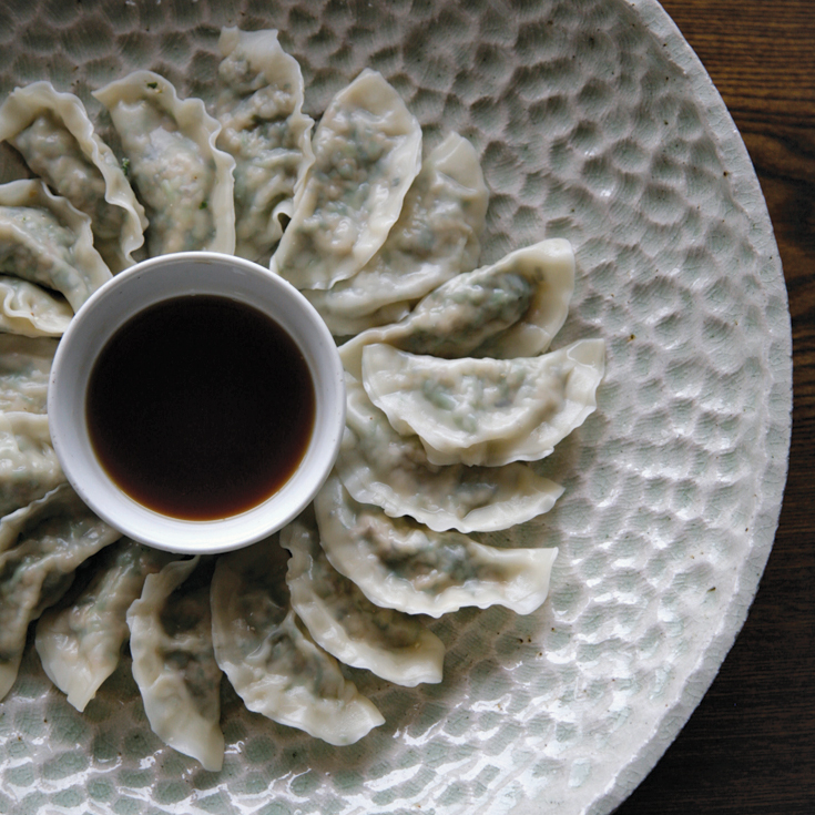 Cabbage, Watercress and Pine Nut Dumplings