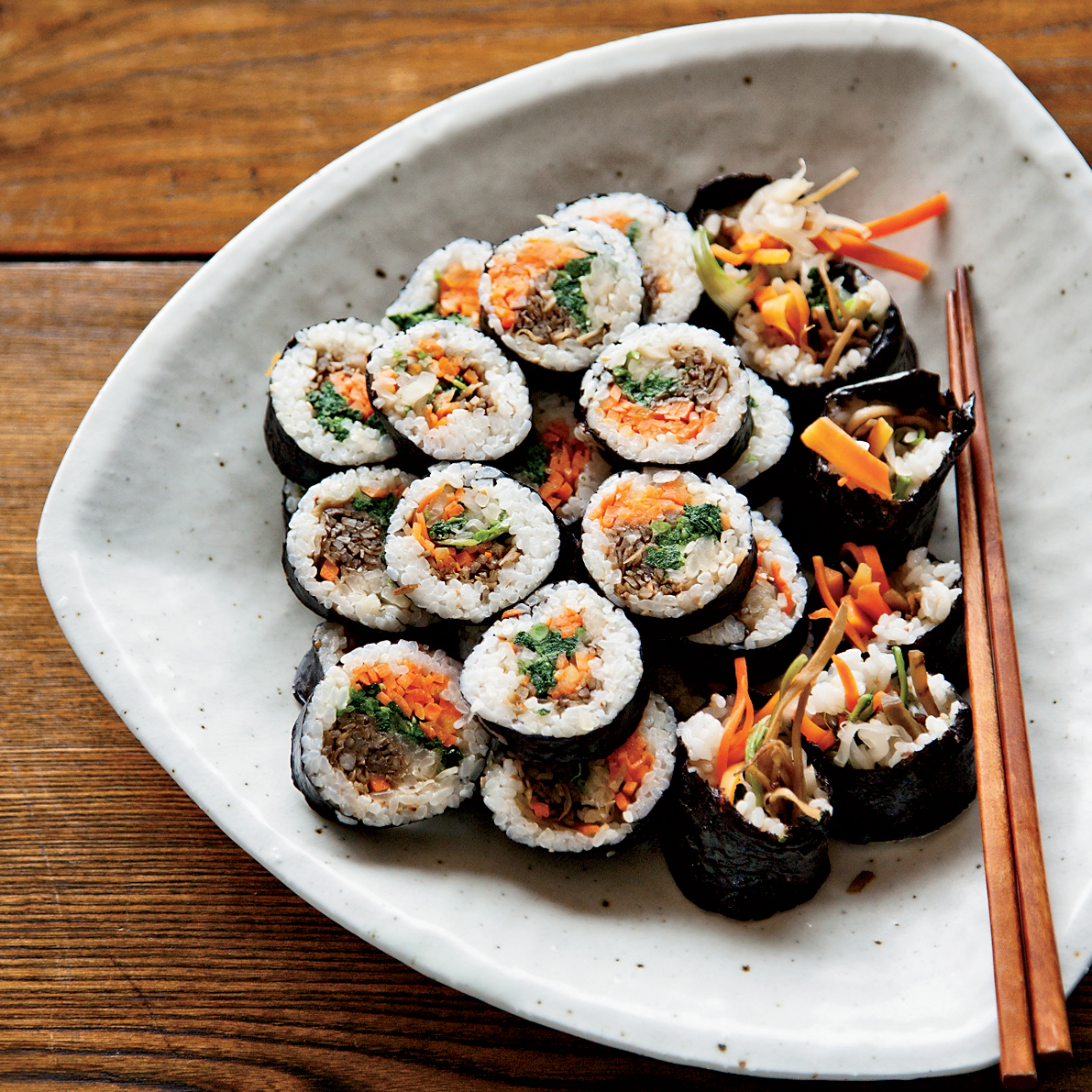 Korean Sushi Rolls (Kimbap/Gimbap) Recipe