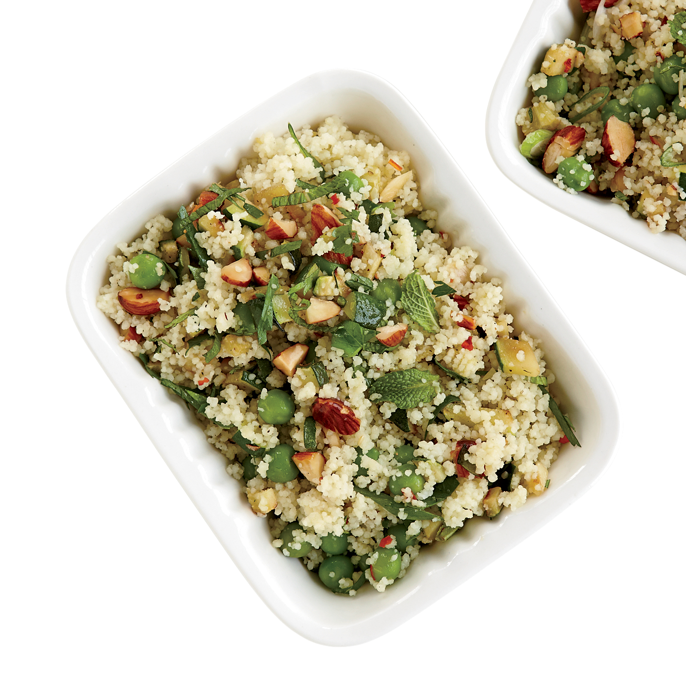 Couscous Salad with Zucchini and Roasted Almonds Recipe ...
