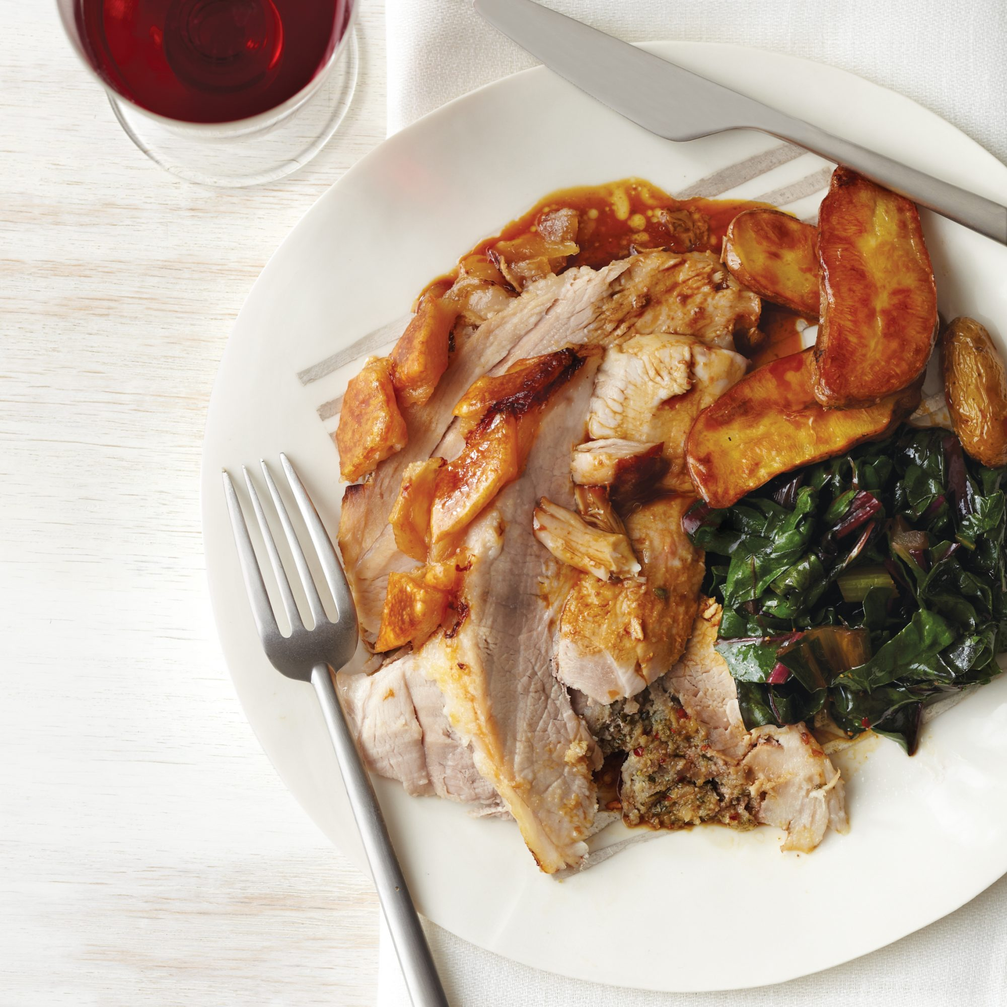 Italian Main Dishes like Crisp-Skinned Porchetta with Lemon and Chile