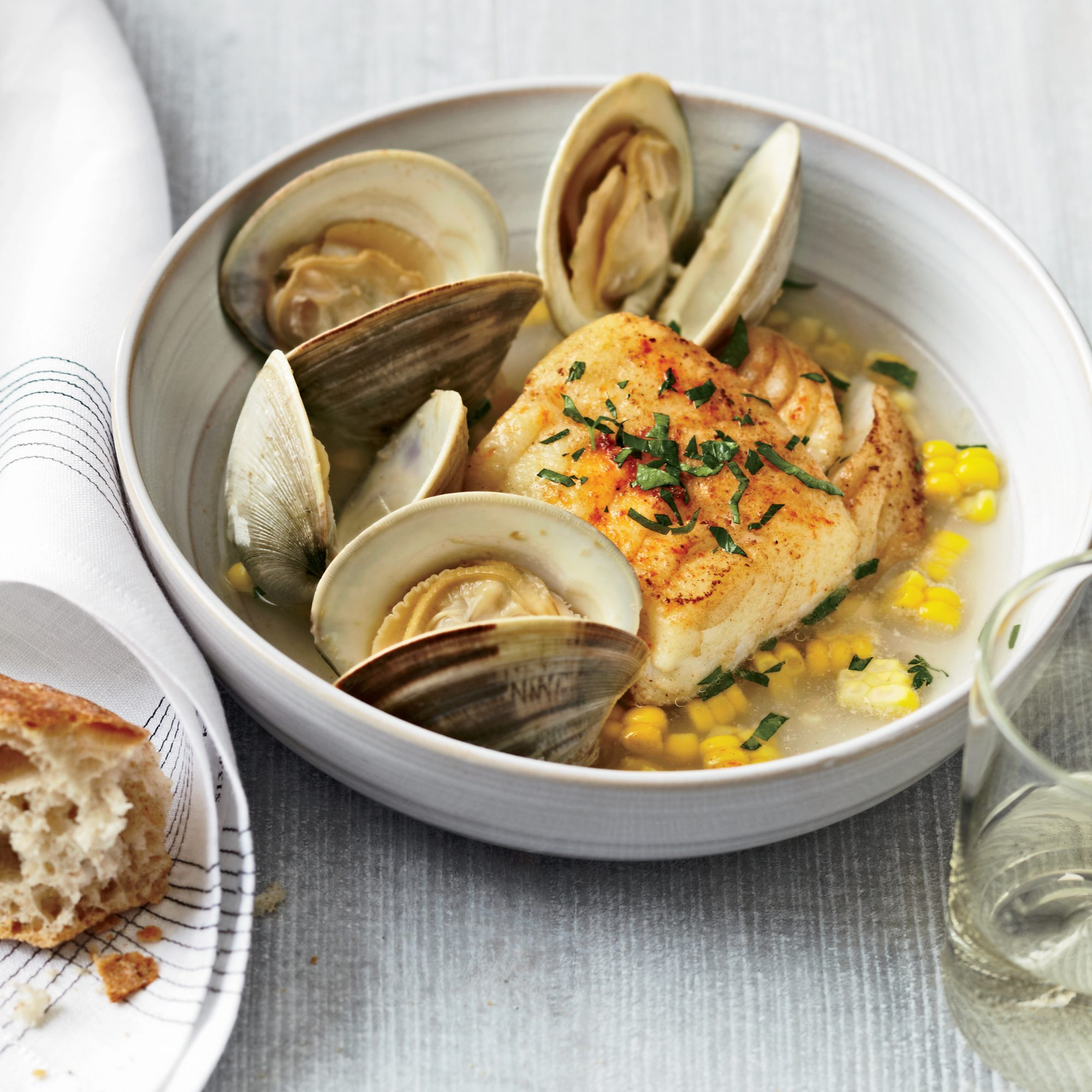 201107-r-Ten-Minute-Salt-Cod-with-Corn-and-Littleneck-Clams.jpg