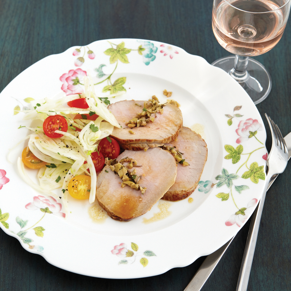Value Summer Wine: Chilled Veal Roast