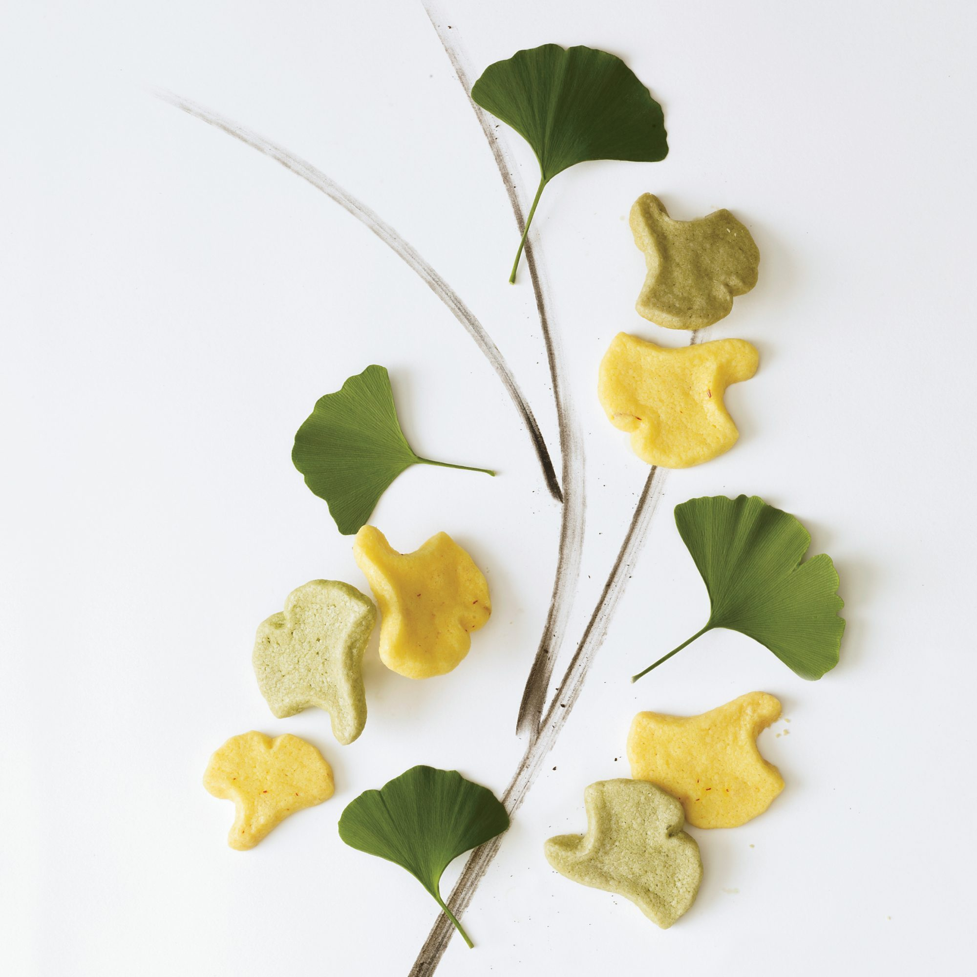 Food Artists: Saffron Sablés