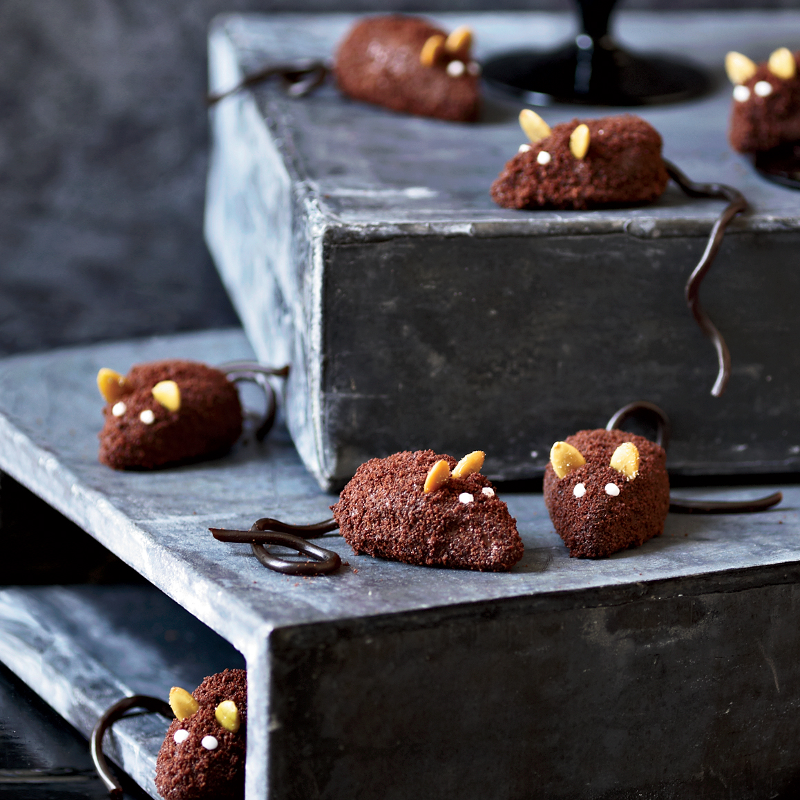 Halloween Dessert Recipes: Chocolate Mice recipe