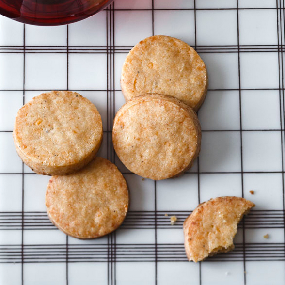 Dorie Greenspan: Smoked Cheese Cocktail Cookies