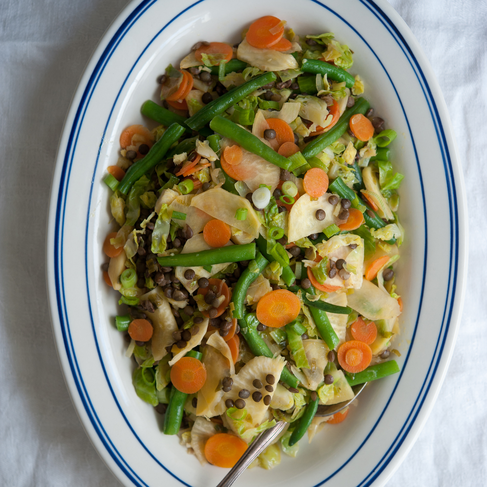 vegetable stir fry recipe five vegetable stir fry with lentils recipe from 29838