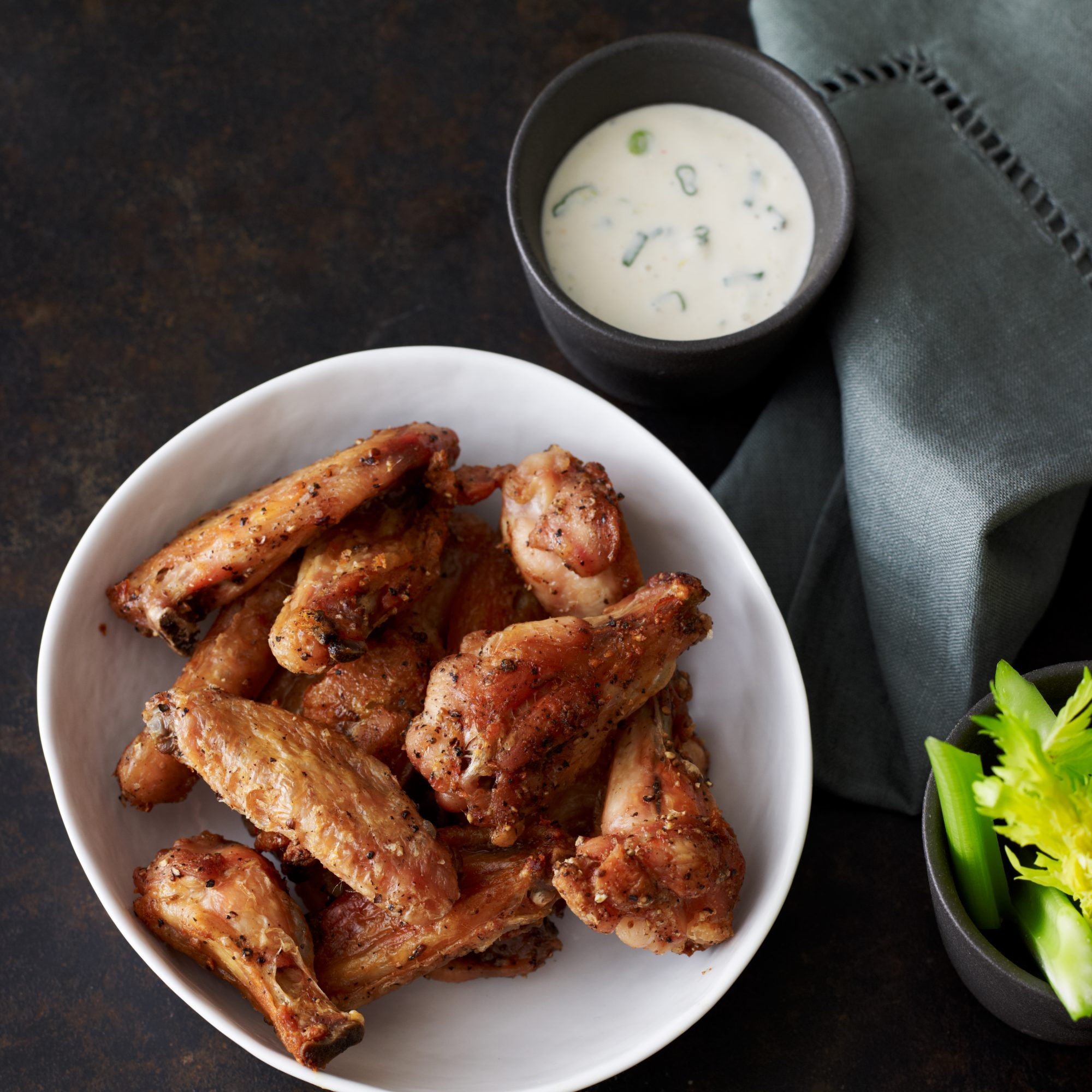 Pepper And Salt Chicken Wings Recipe