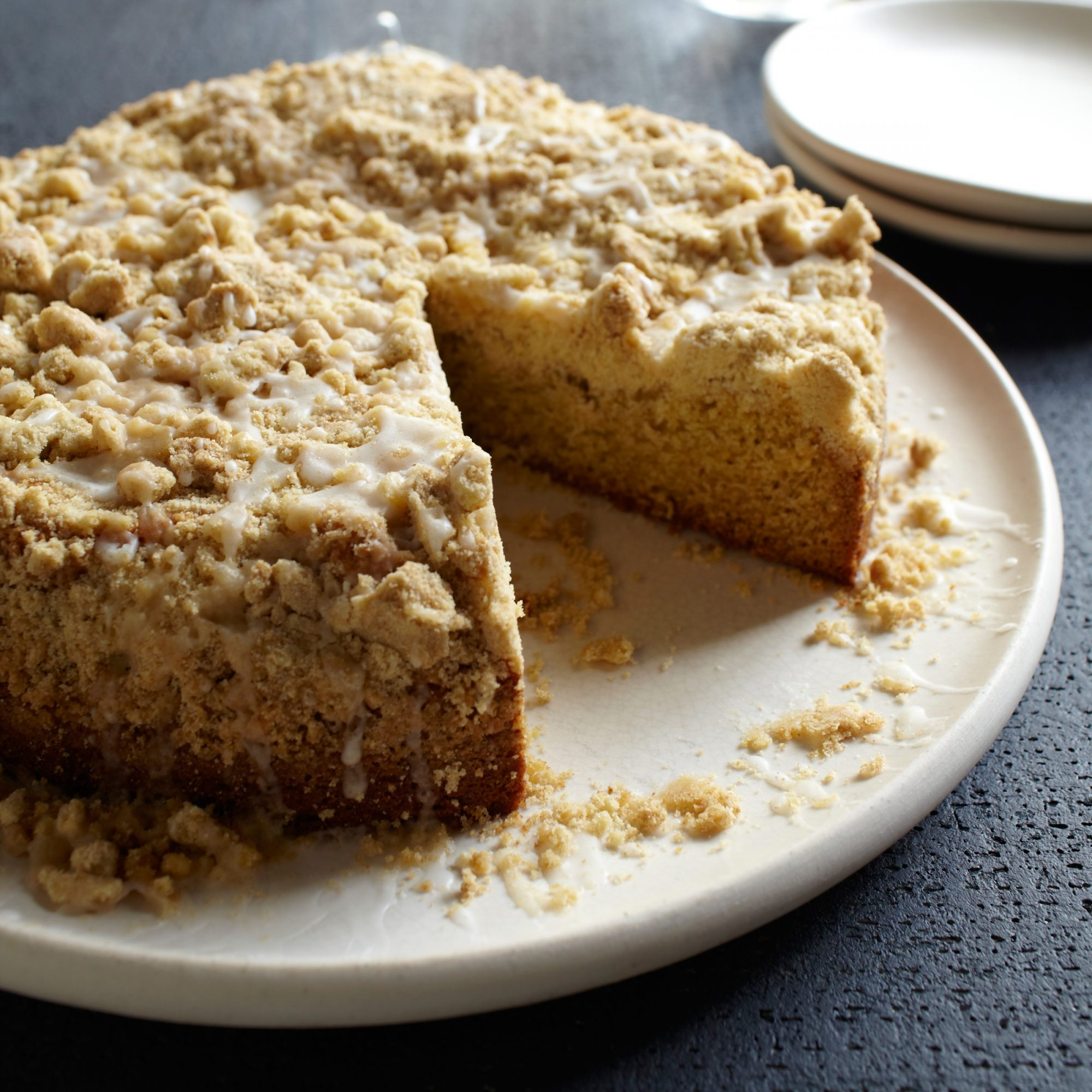 Healthy Thanksgiving Dessert Mace Spiced Crumb Cake