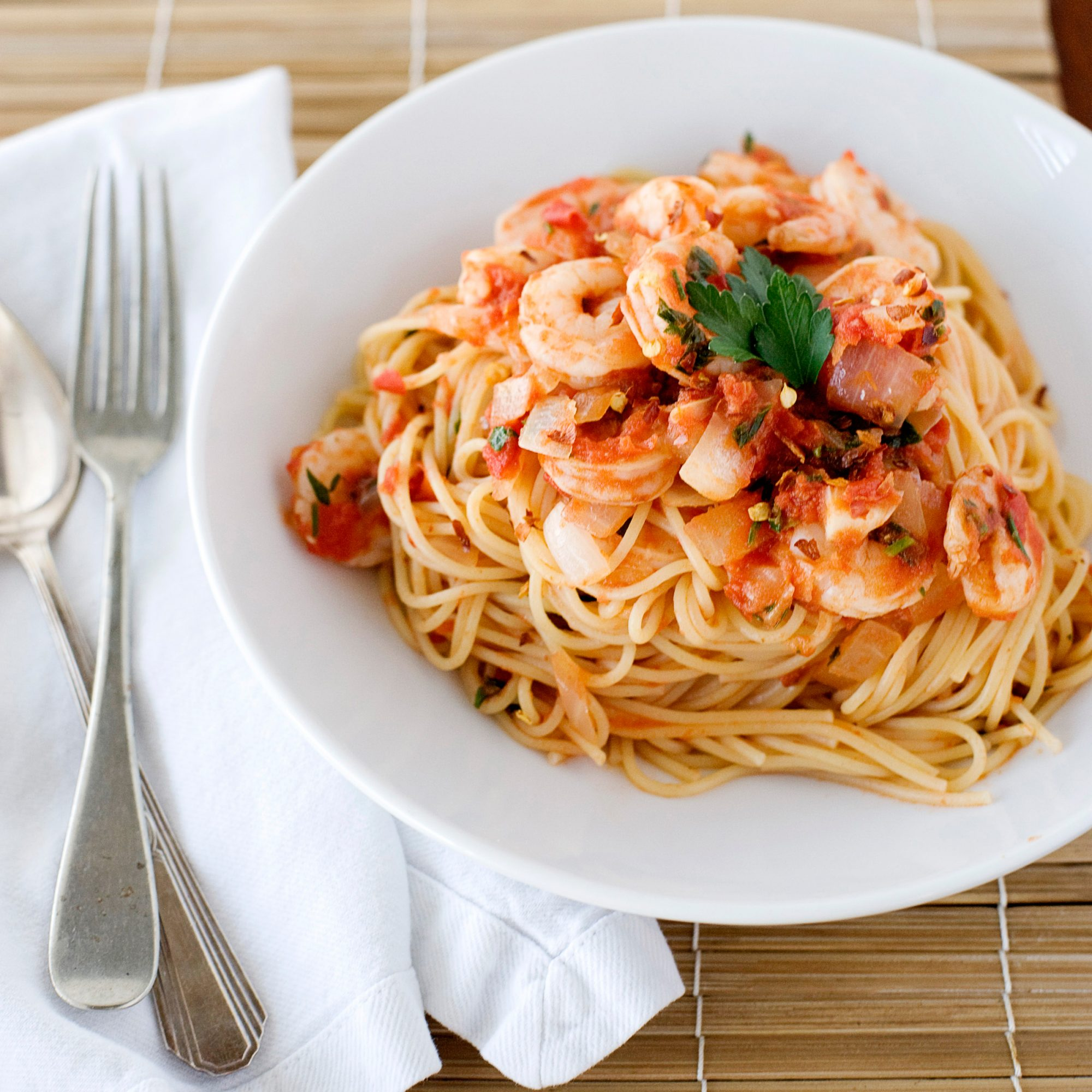 Shrimp Fra Diavolo with Vermicelli Recipe - F&W Test Kitchen | Food ...