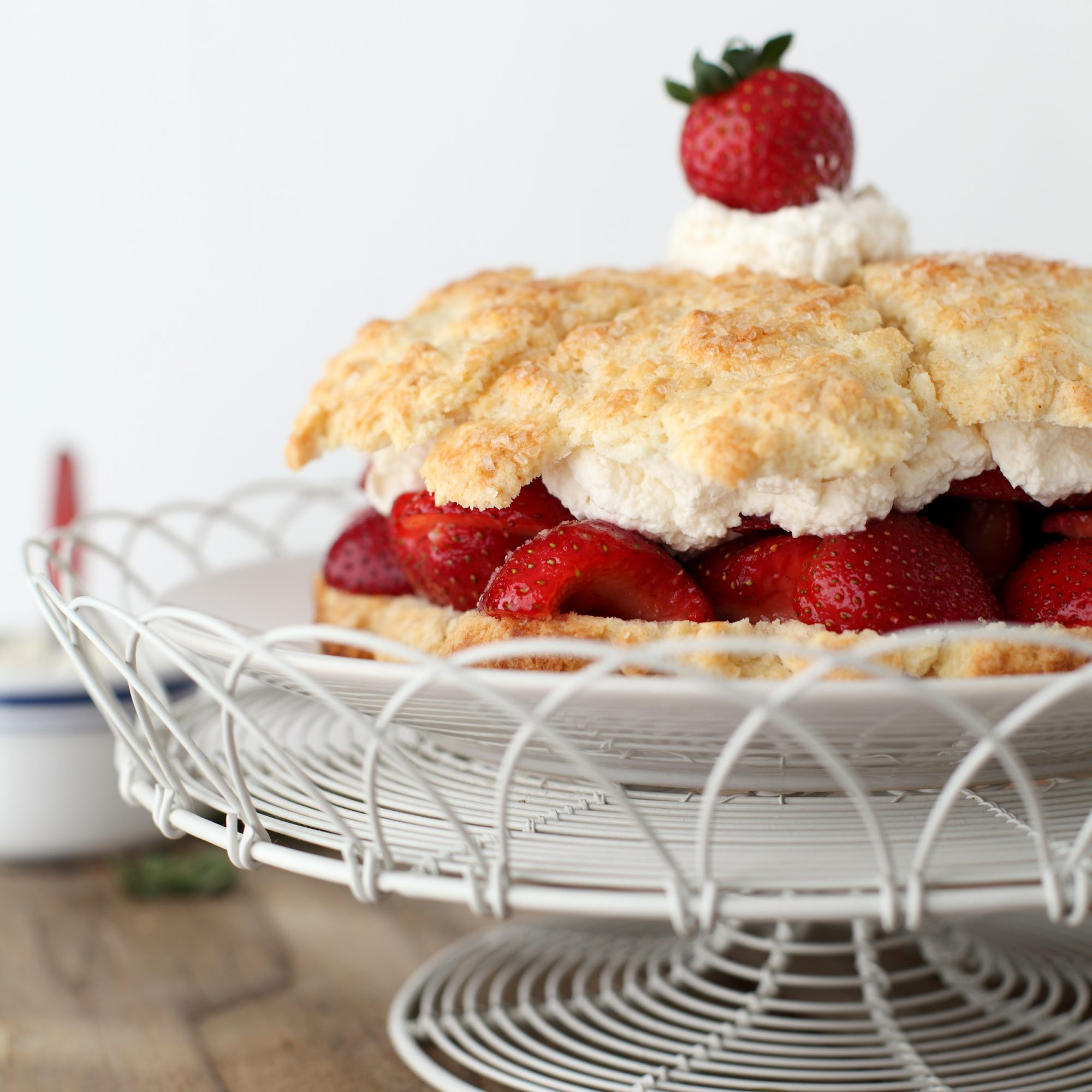 how to prepare strawberries for shortcake