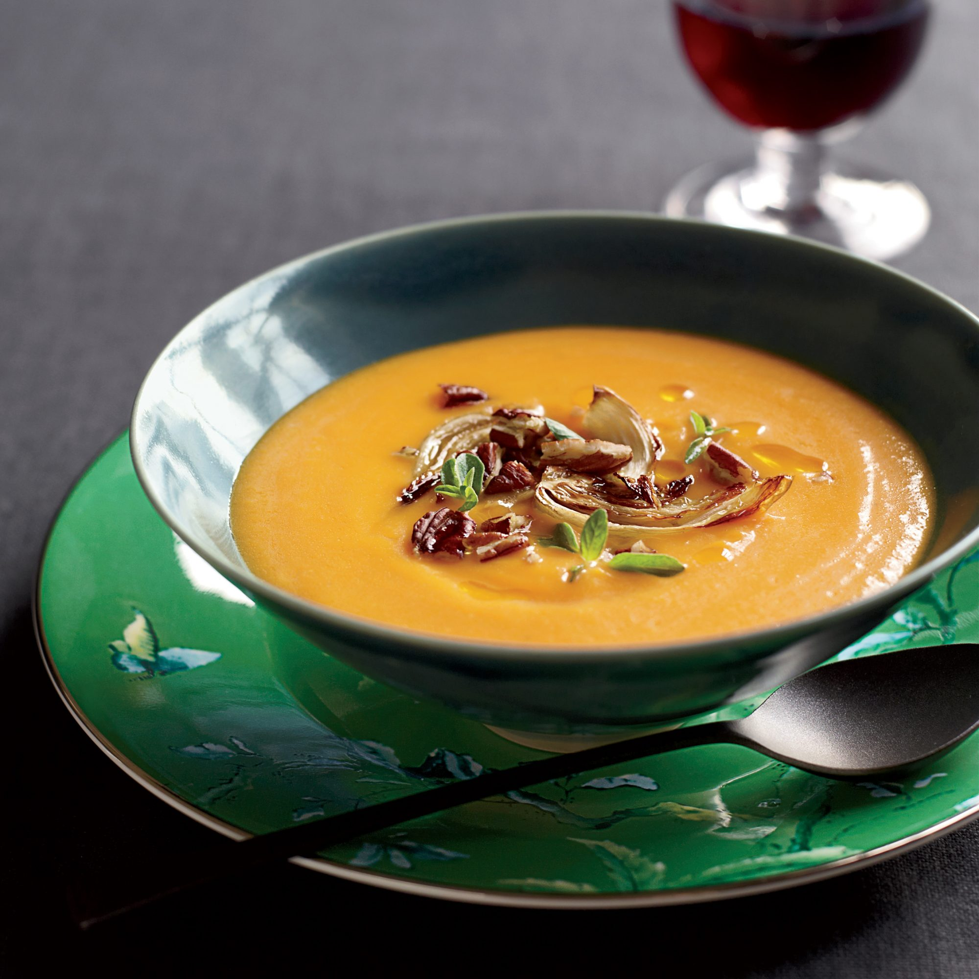 Red Kuri Squash Soup Recipe - Alice Waters | Food & Wine