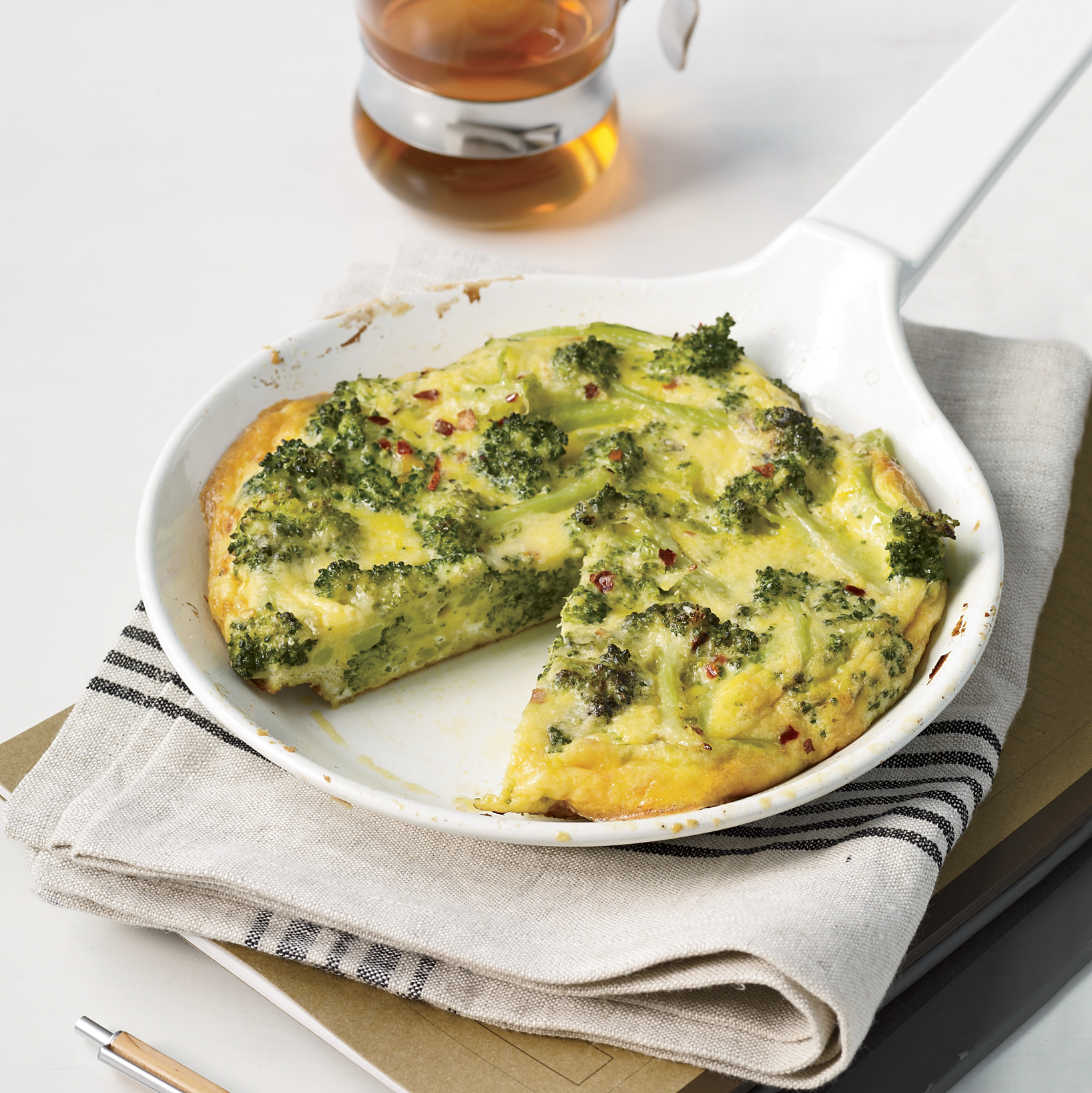 <p>Broccoli Frittata</p>