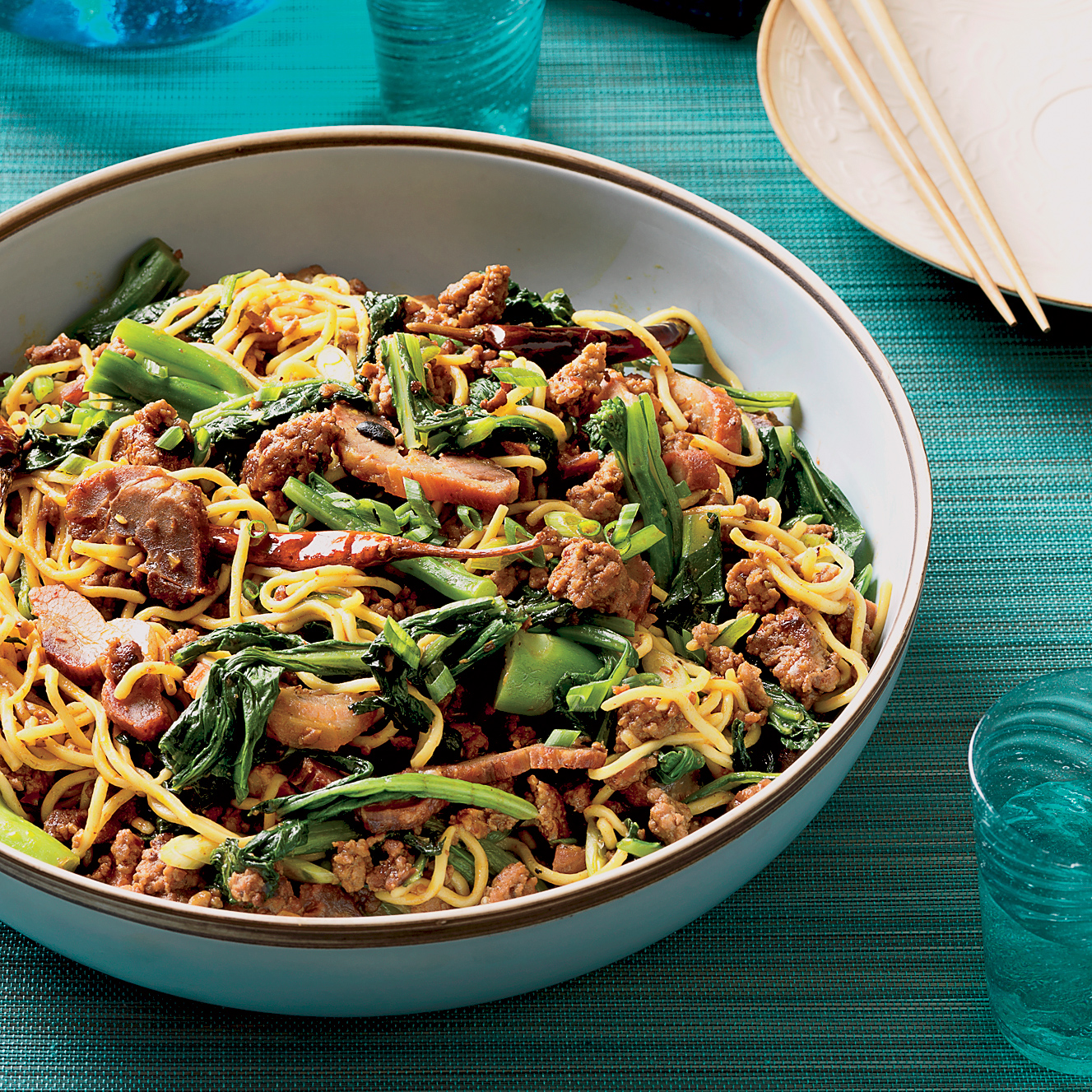 With Asian ground pork recipes suggest