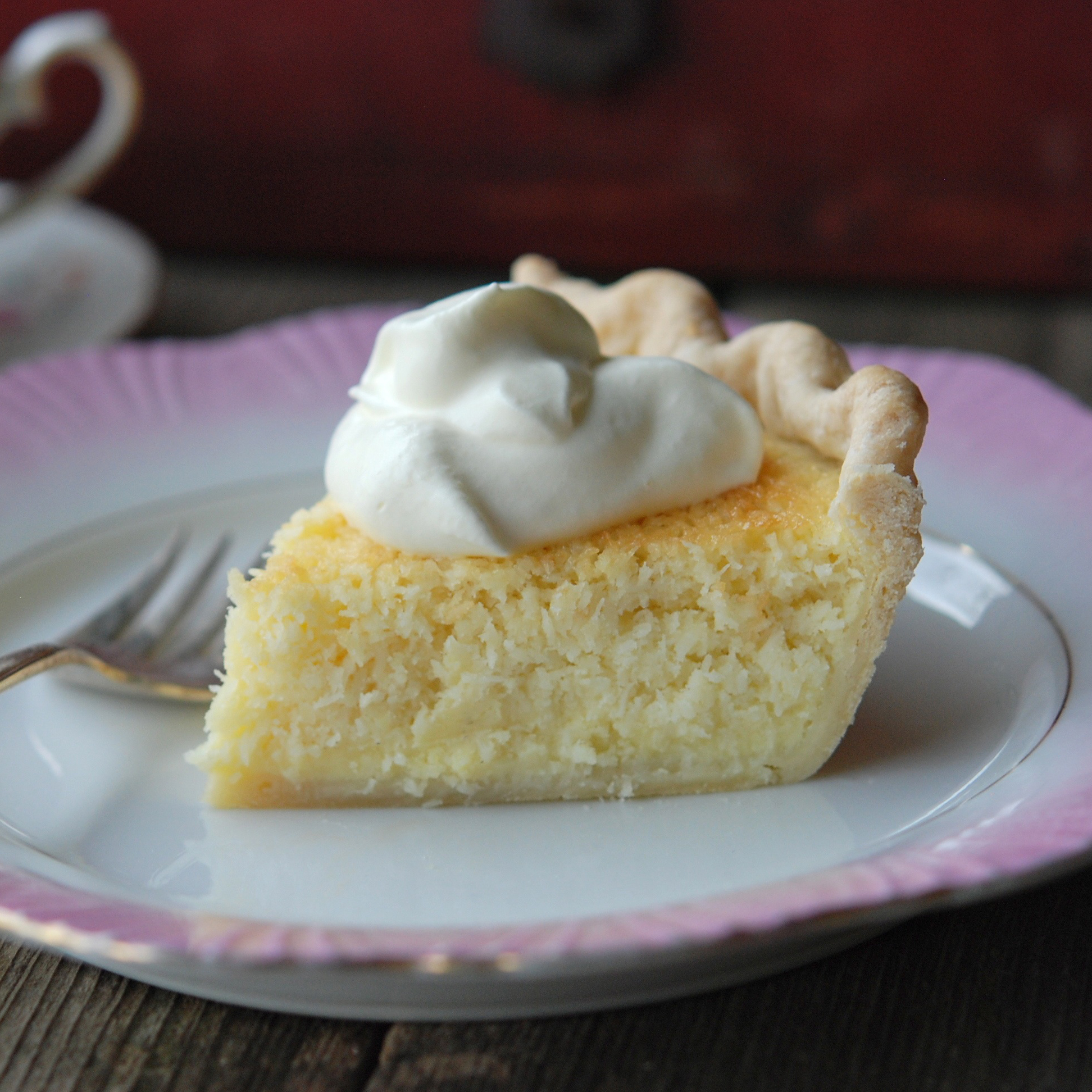 Coconut Custard Pie Recipe - Andrew Zimmern | Food & Wine
