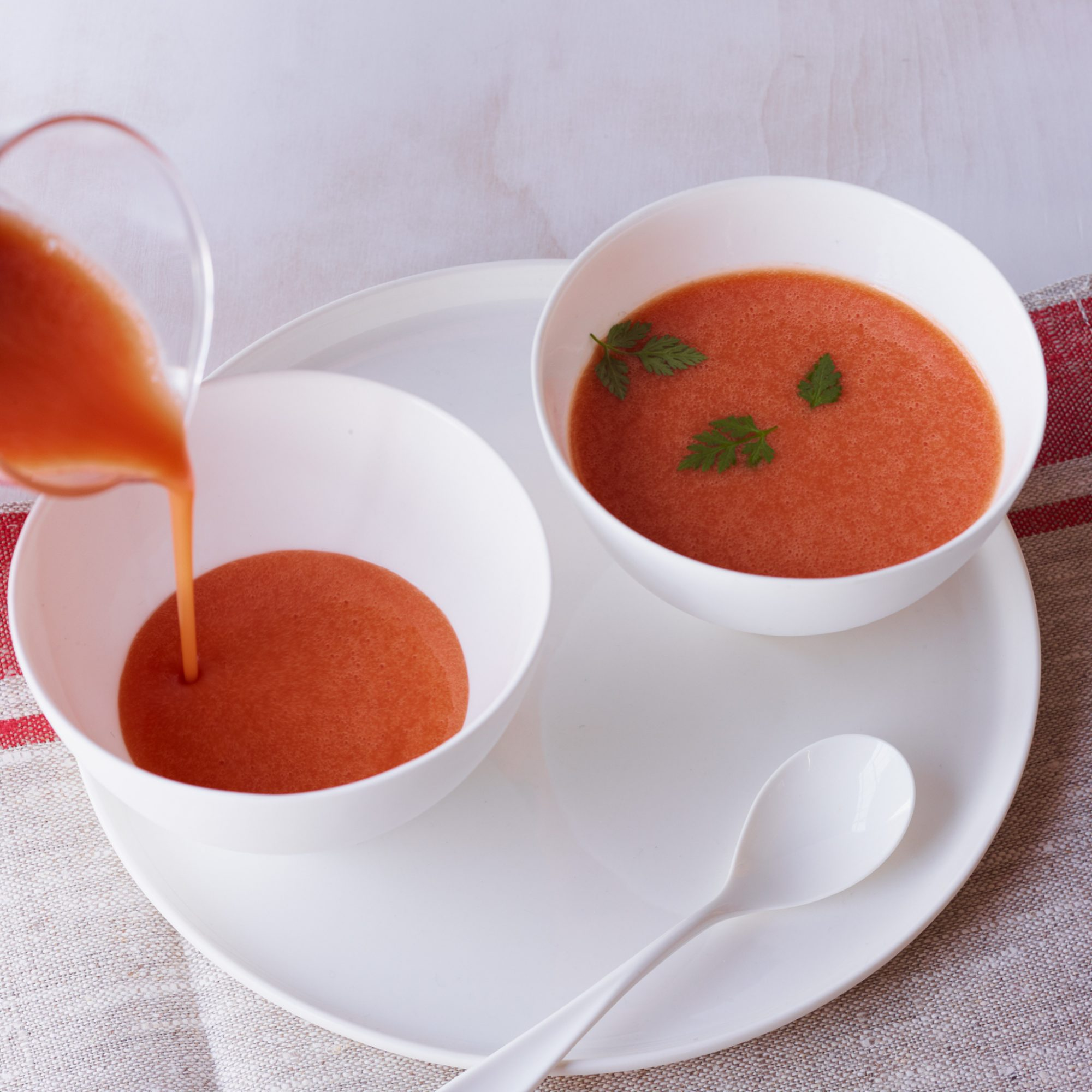 Cold Watermelon Soup Recipe - Jamie Bissonnette | Food & Wine