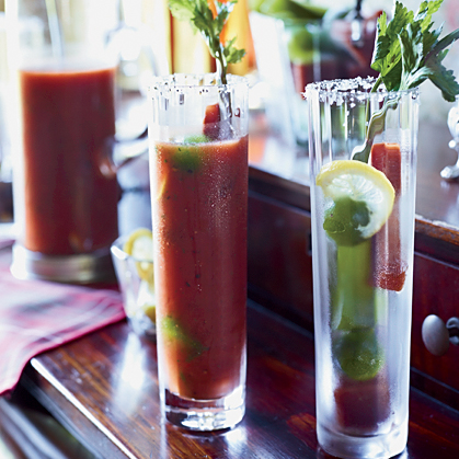 Christmas Mix-Your-Own Bloody Mary Bar