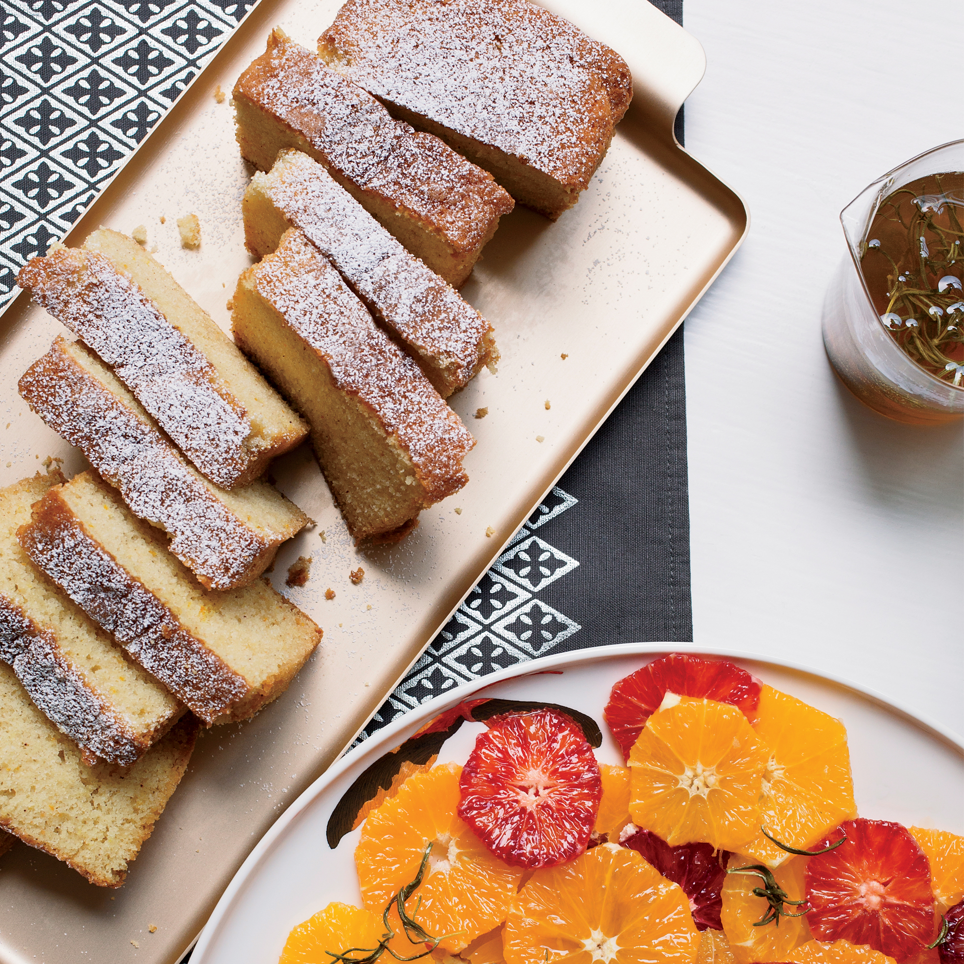 Orange-Scented Buttermilk Cake Loaves