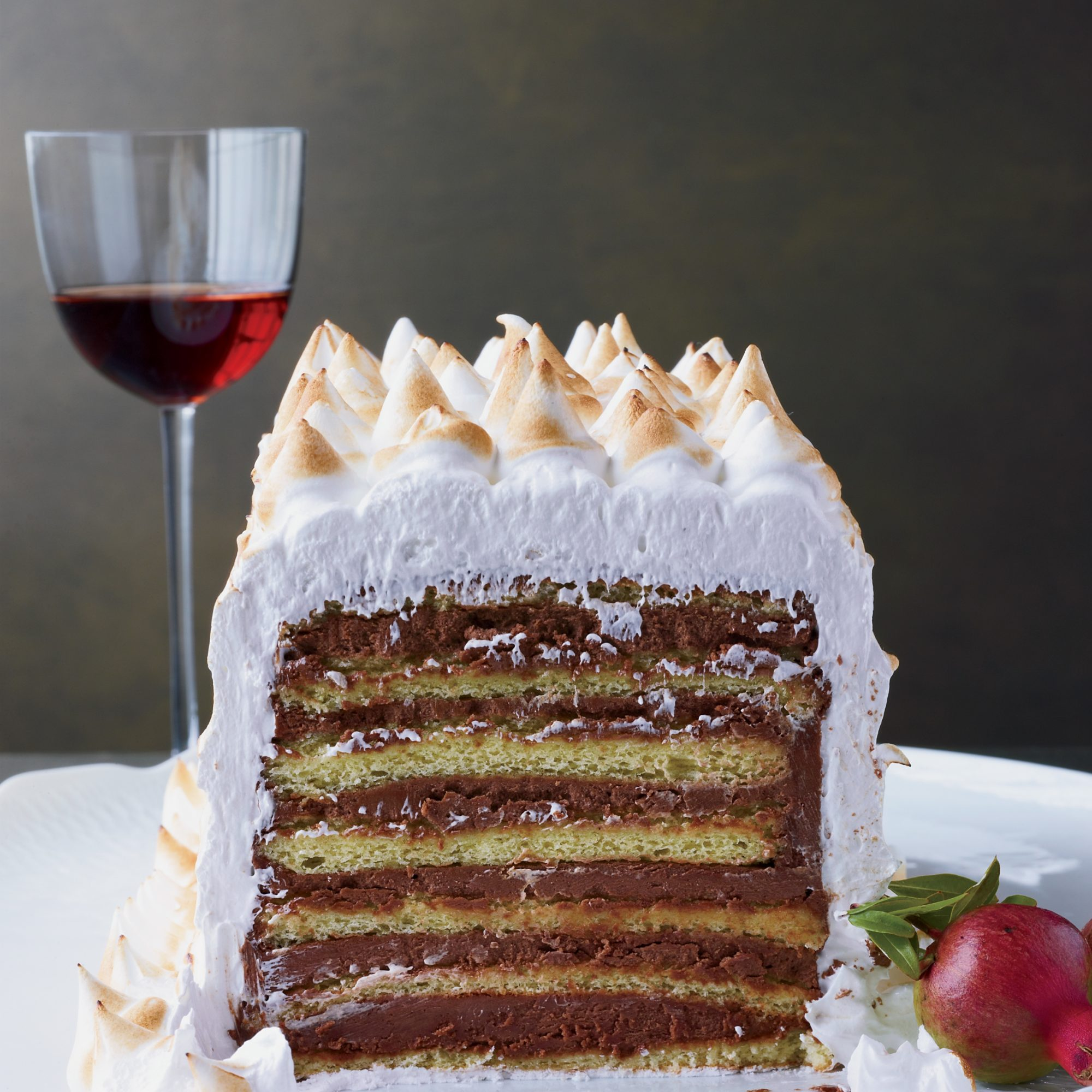 Holiday Pairing: Seven-Layer Dobos Tarte with Passito