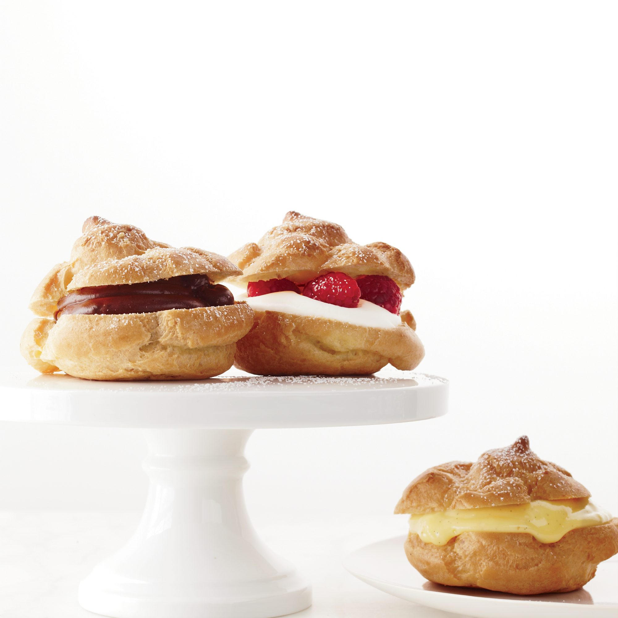 How to Make Cream Puffs and Éclairs