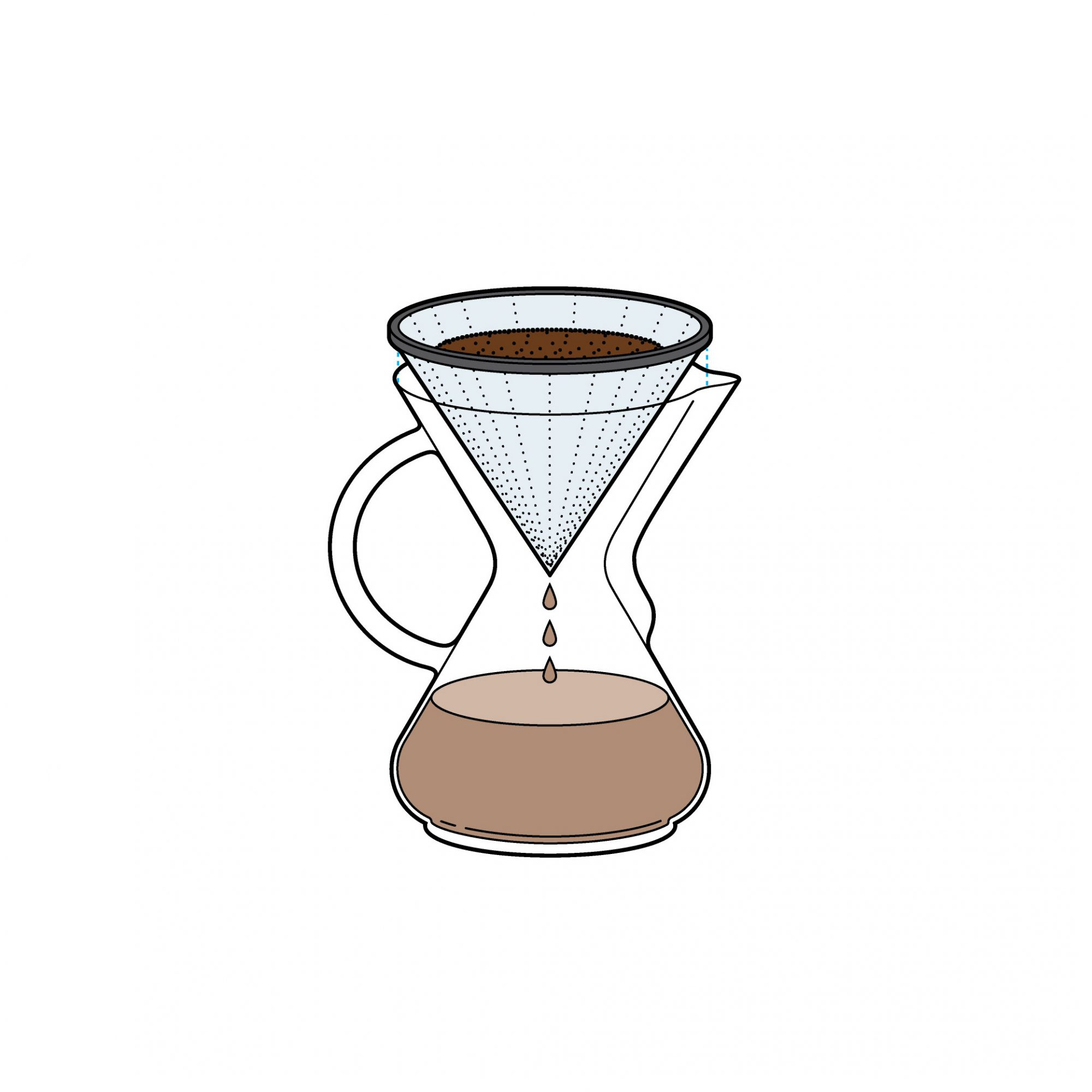Chemex with Metal Filter