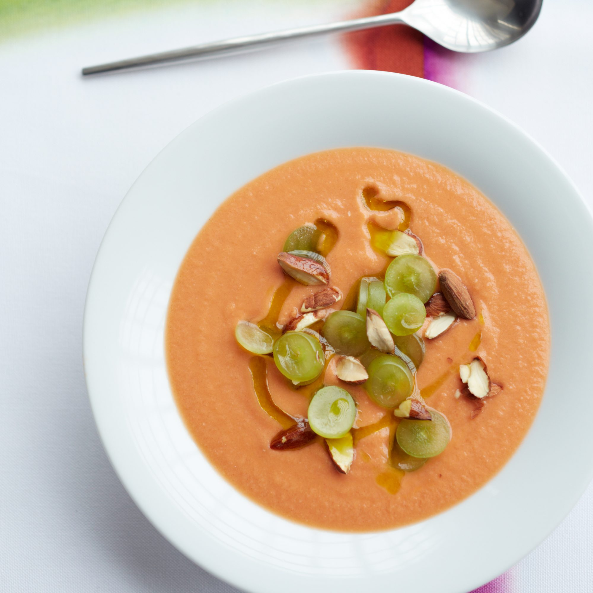 Cool and Smoky Salmorejo Soup