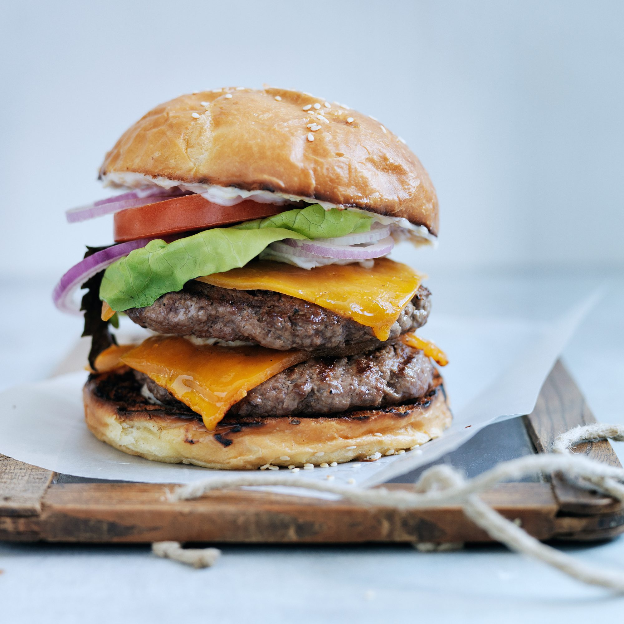 Double Cheeseburgers, Los Angeles-Style