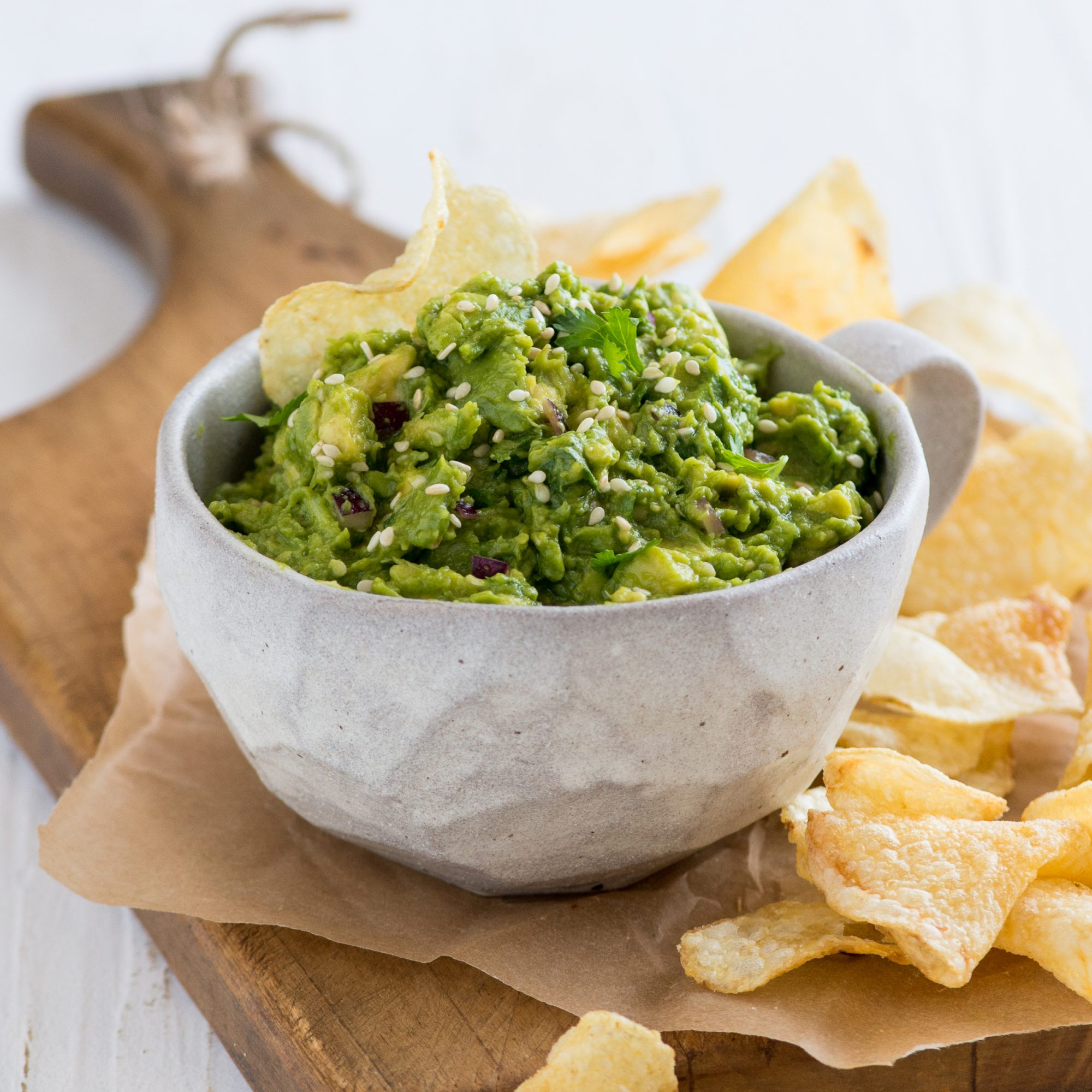 Asian Sesame Guacamole