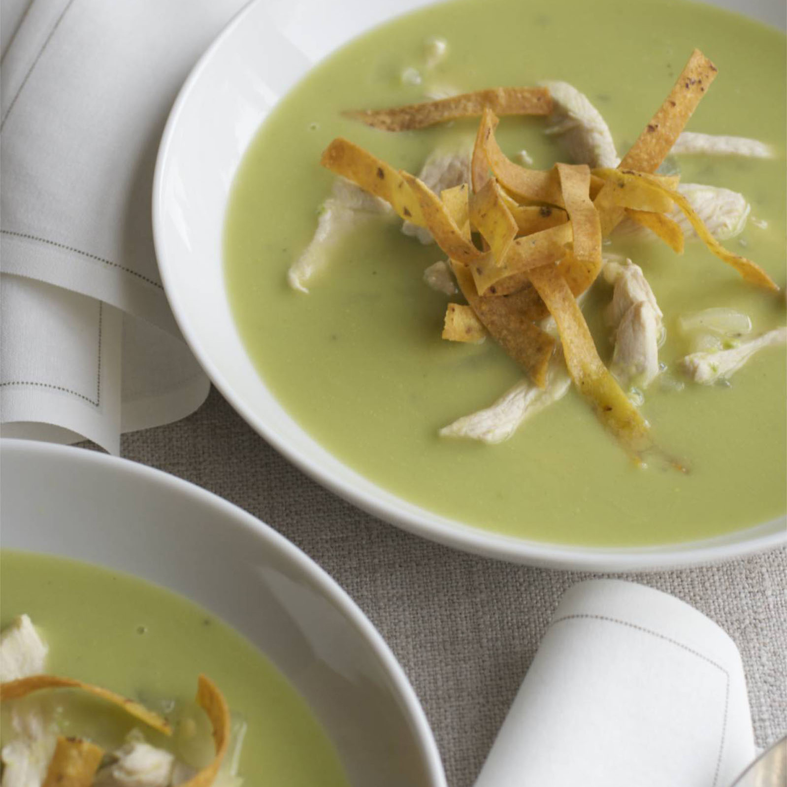 Chicken-and-Avocado Soup