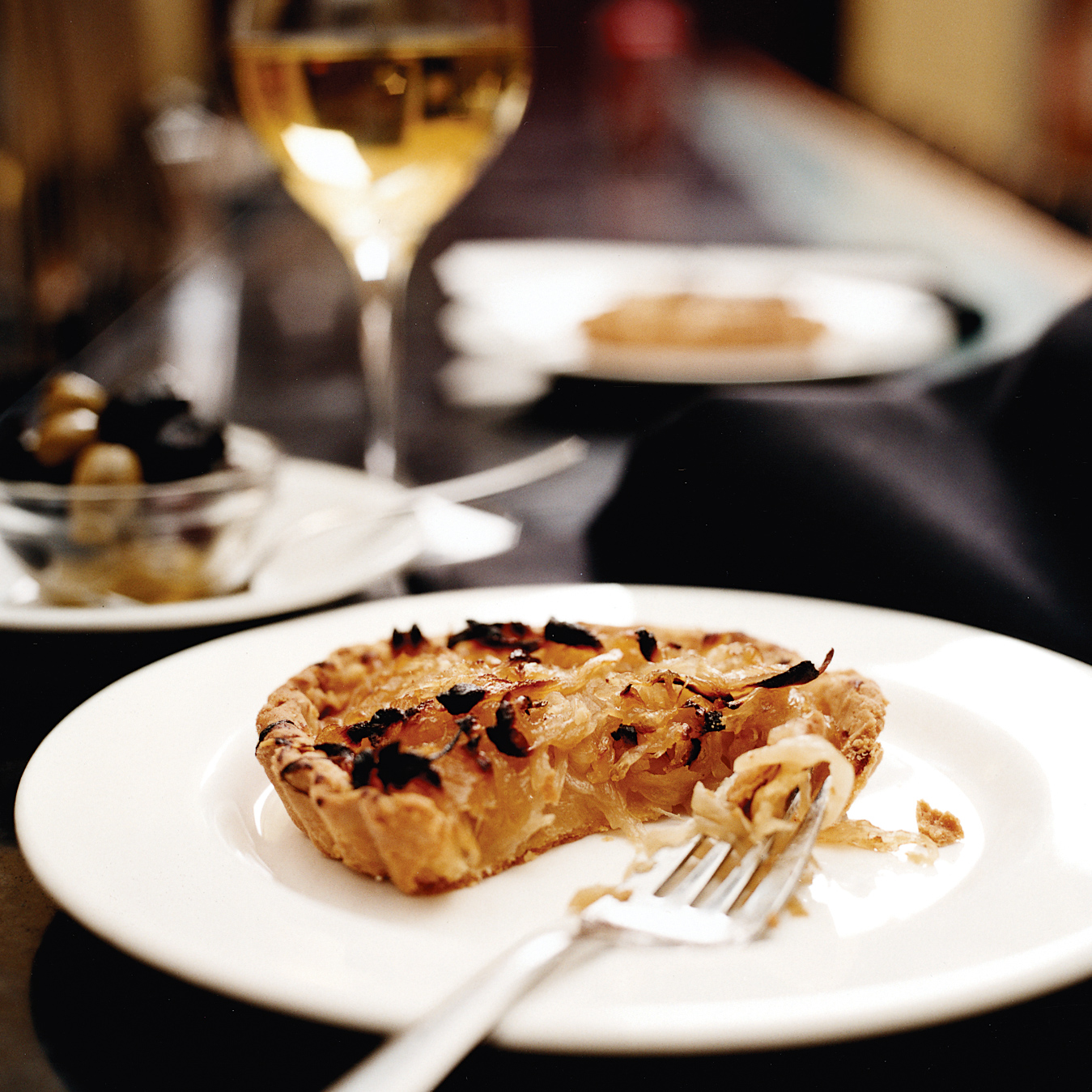 Caramelized Onion and Gruyere Tart Vegetarian Appetizer