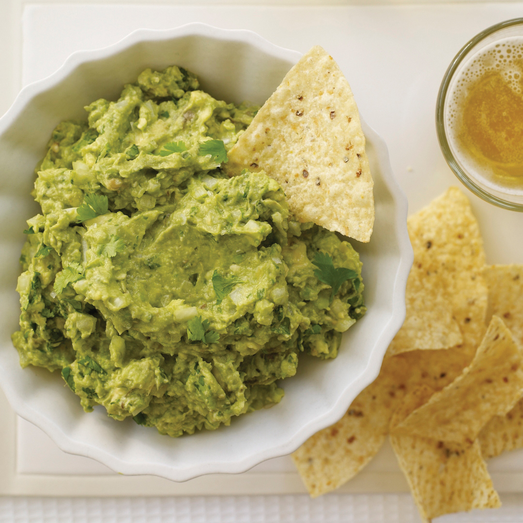 Chunky Guacamole with Cumin