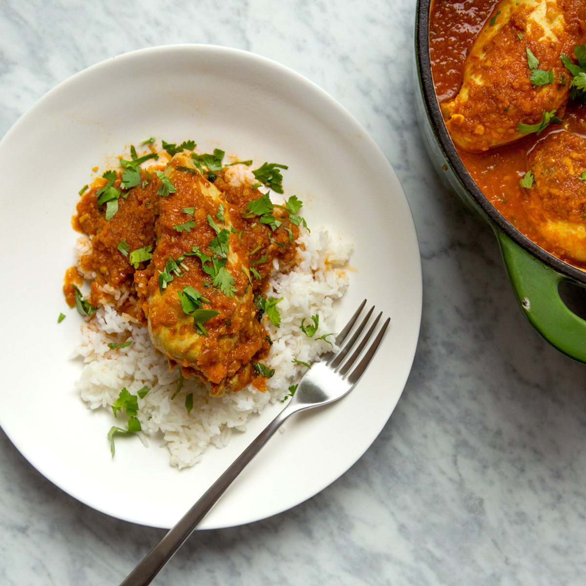 Dhaba Chicken Curry
