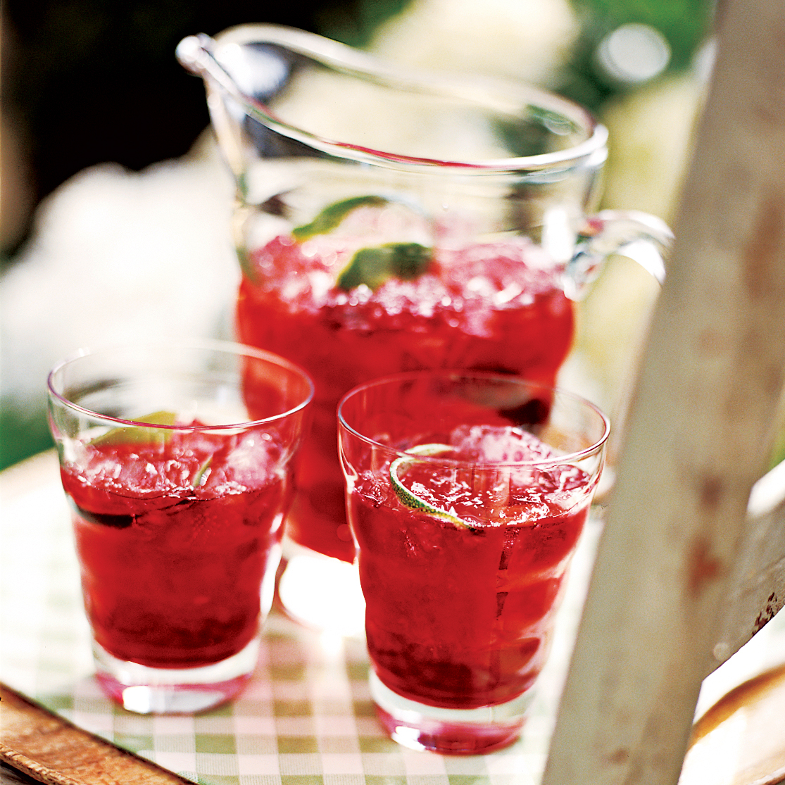 Tangy Hibiscus Lime Iced Tea Recipe Melissa Rubel Jacobson Food