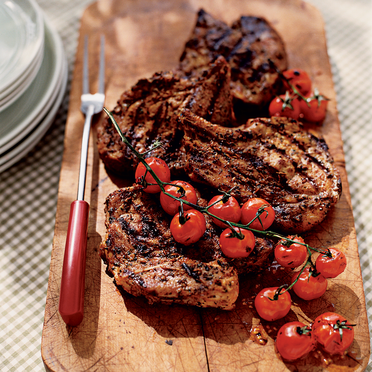 Shewchuk's Spice-Crusted Pork-Blade Steaks Recipe