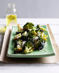 10 Fast Thanksgiving Side Dishes like Roasted Broccoli with Lemon and Parmesan