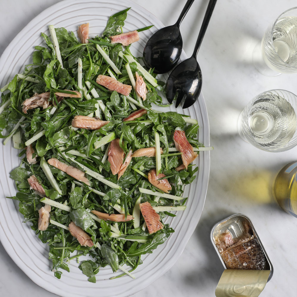 Smoked Trout and Apple Salad