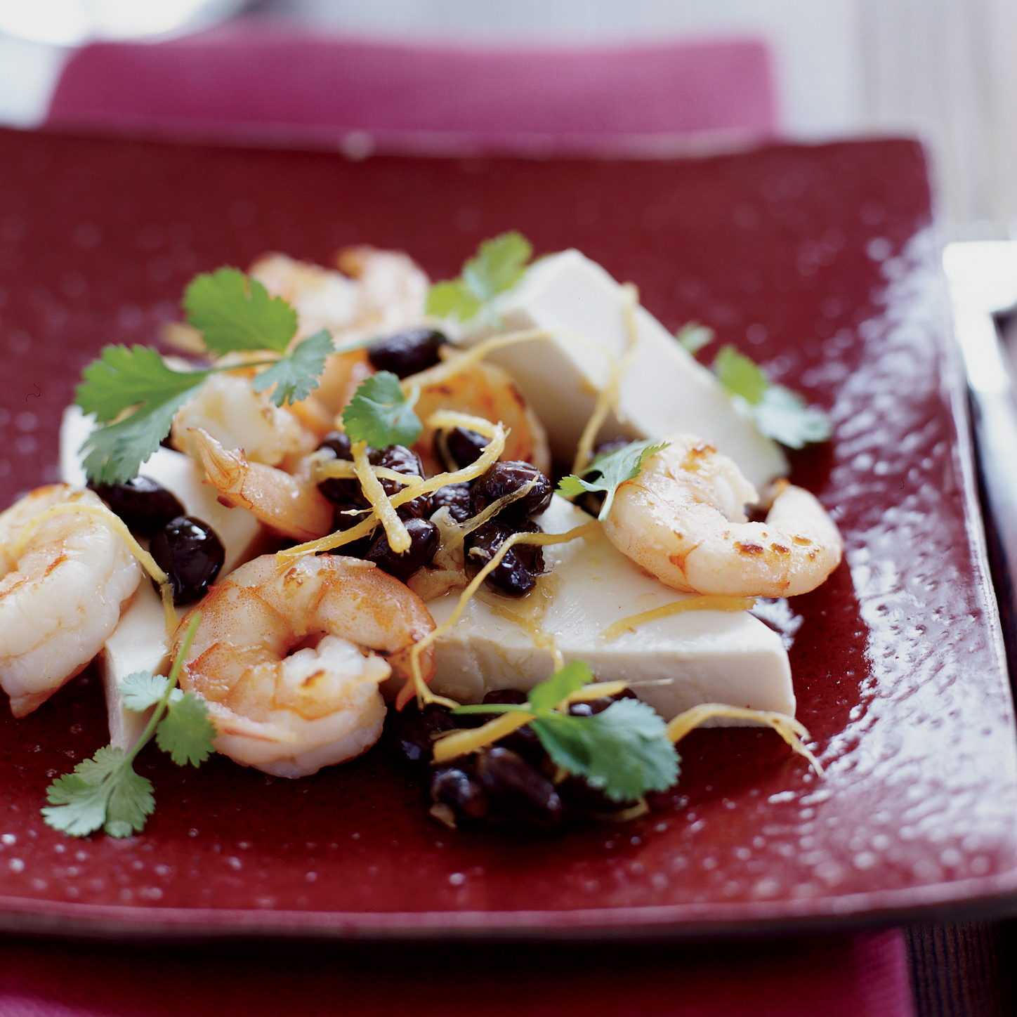 Steamed Tofu with Shrimp and Black Bean Sauce Recipe ...