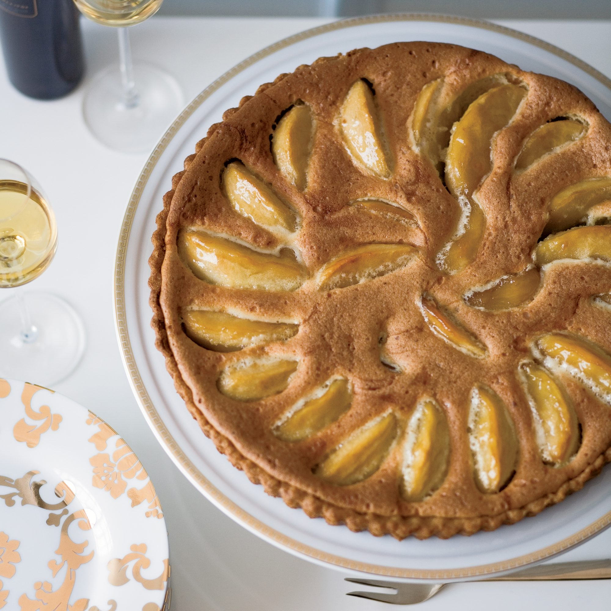 Granny Smith Apple and Brown Butter Custard Tart